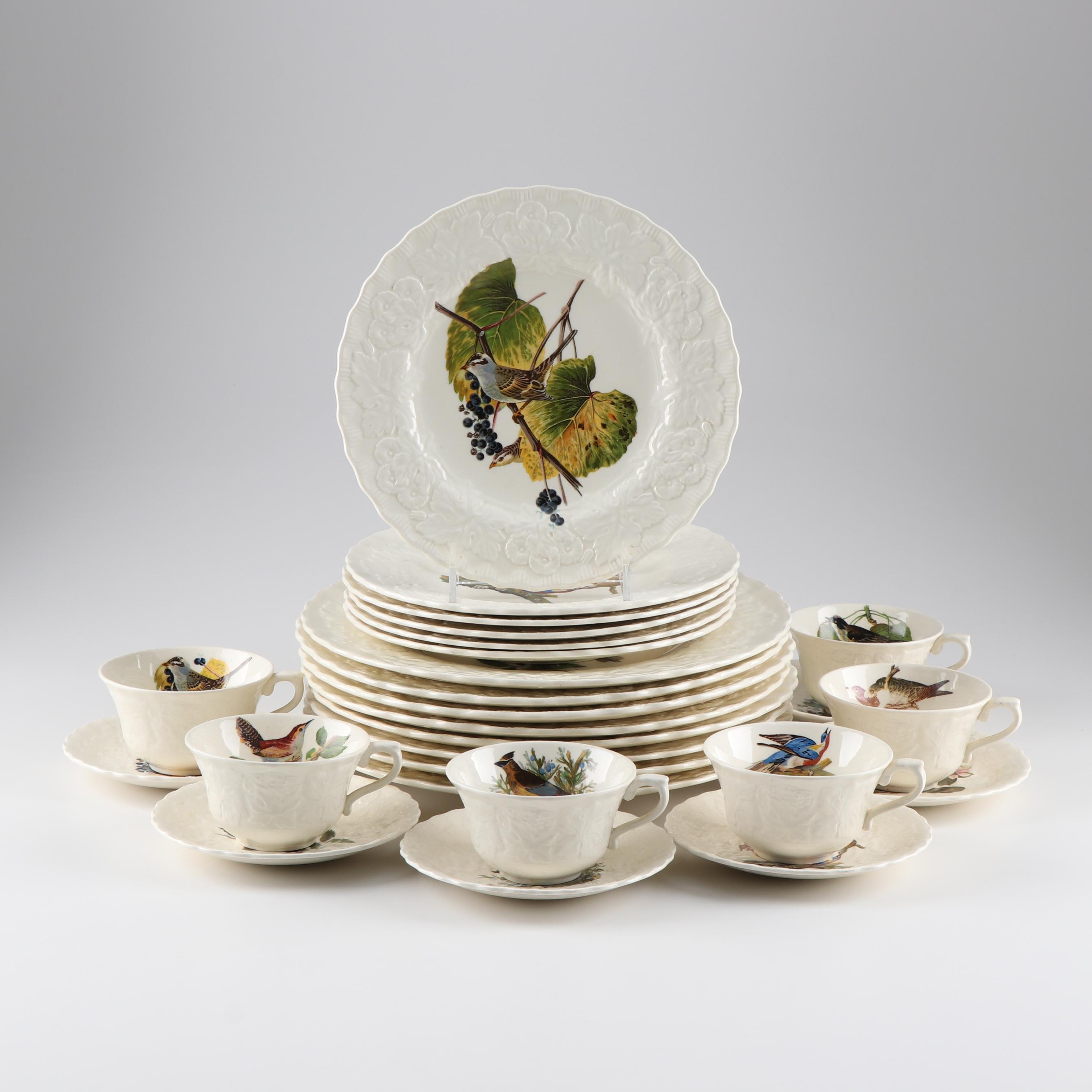 "Alfred Meakin ""Birds of America"" Dinnerware"