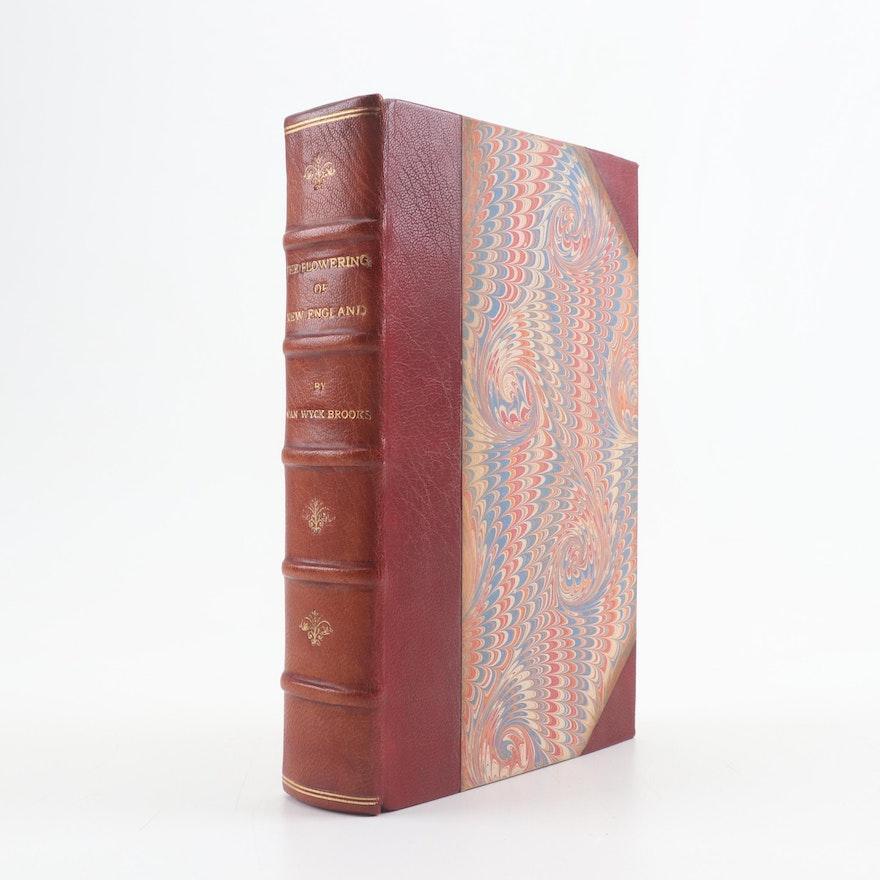 """""""The Flowering of New England 1815-1865"""" by Van Wyck Brooks, 1937"""