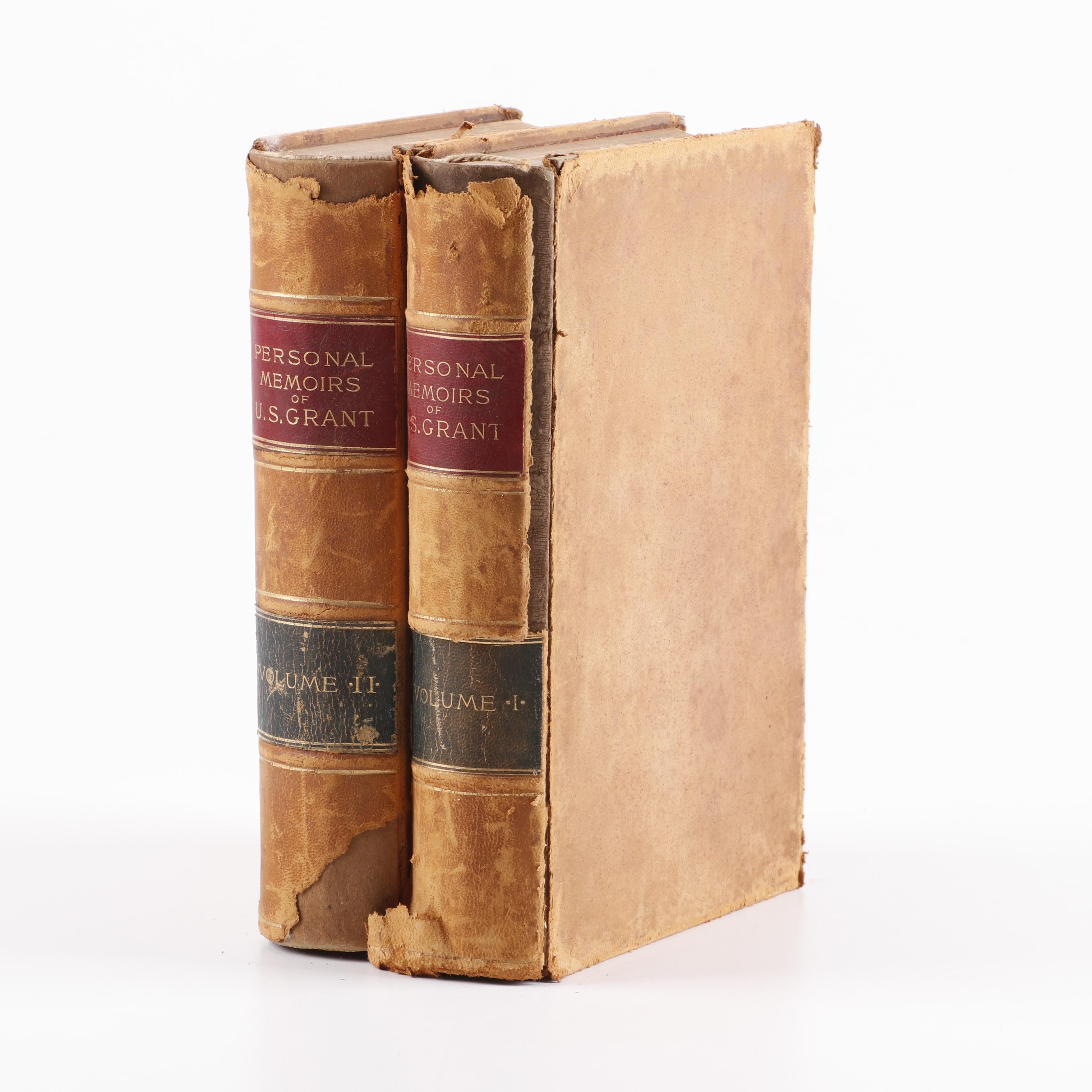 """Personal Memoirs of U.S. Grant"" by Ulysses S. Grant, 1885"