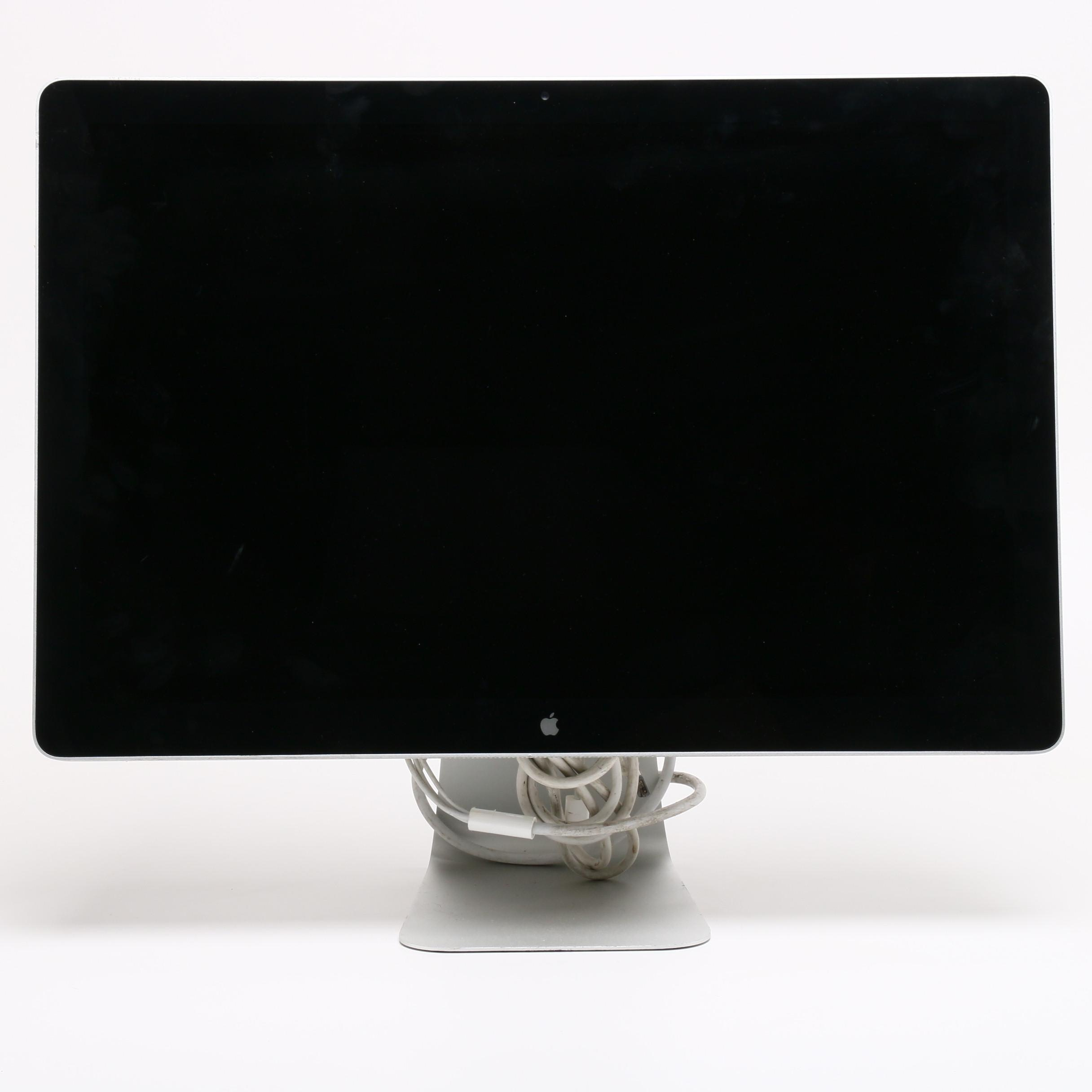 "24"" Apple Cinema Display Monitor"