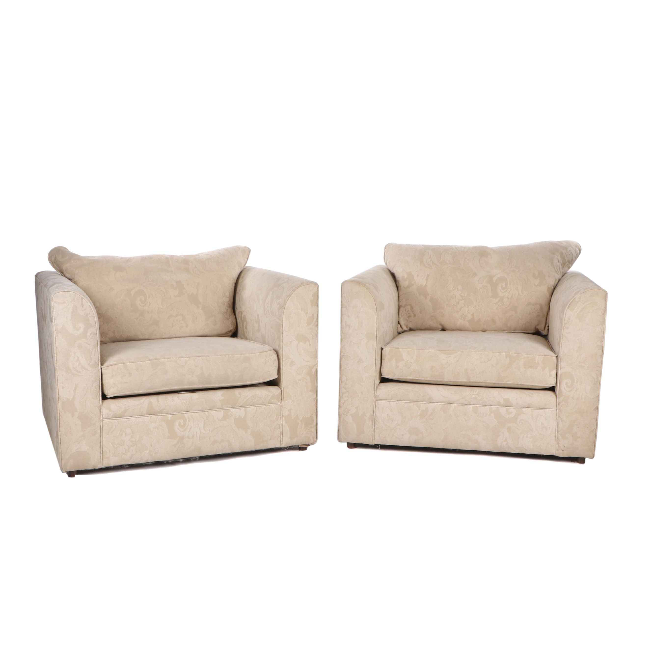 Contemporary Upholstered Lounge Chairs