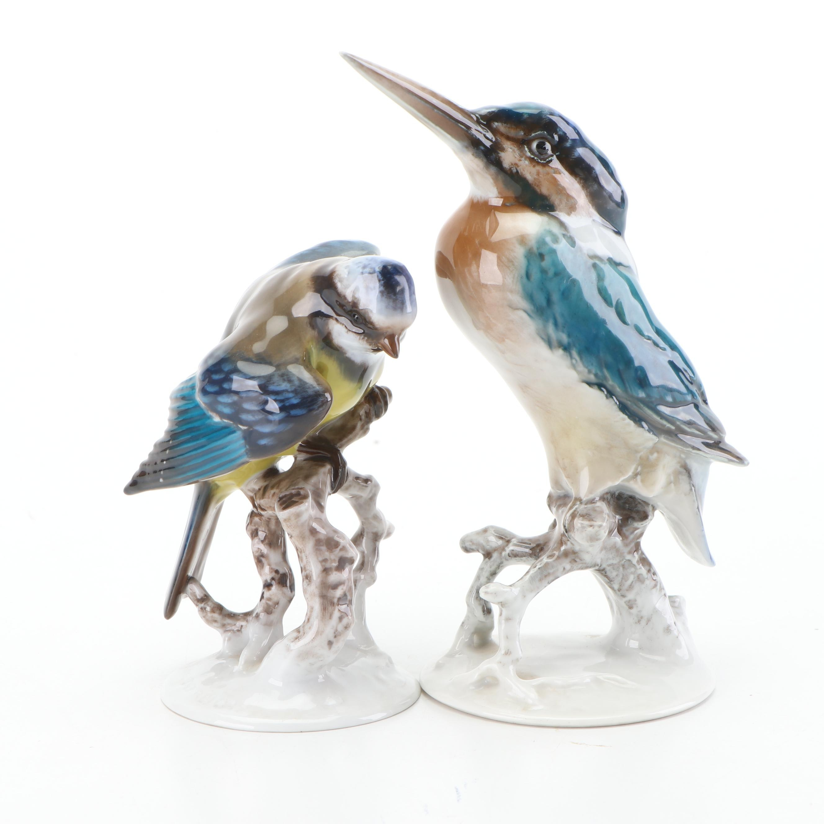 Rosenthal Porcelain Bird Figurines