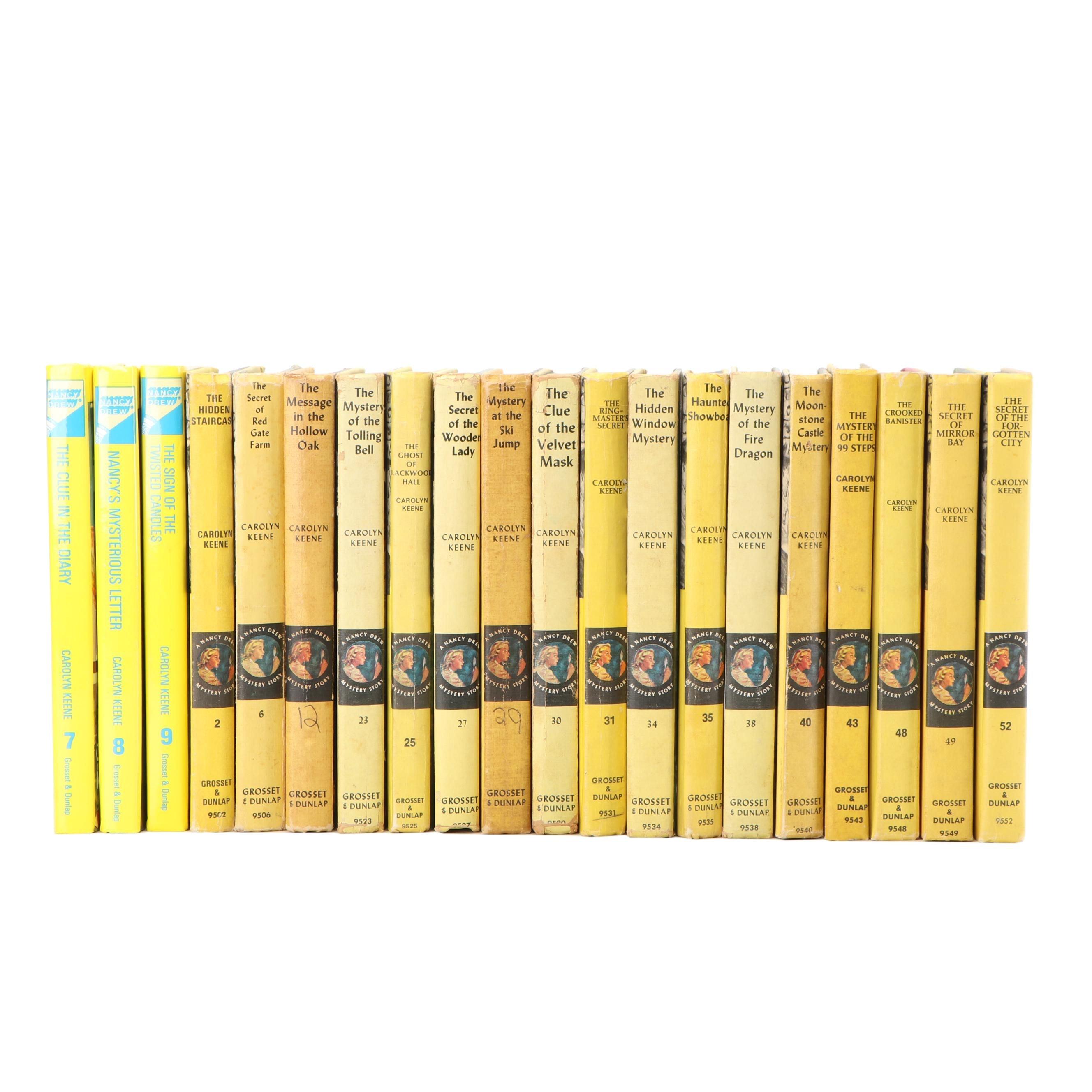 "Collection of ""Nancy Drew"" Mystery Novels"
