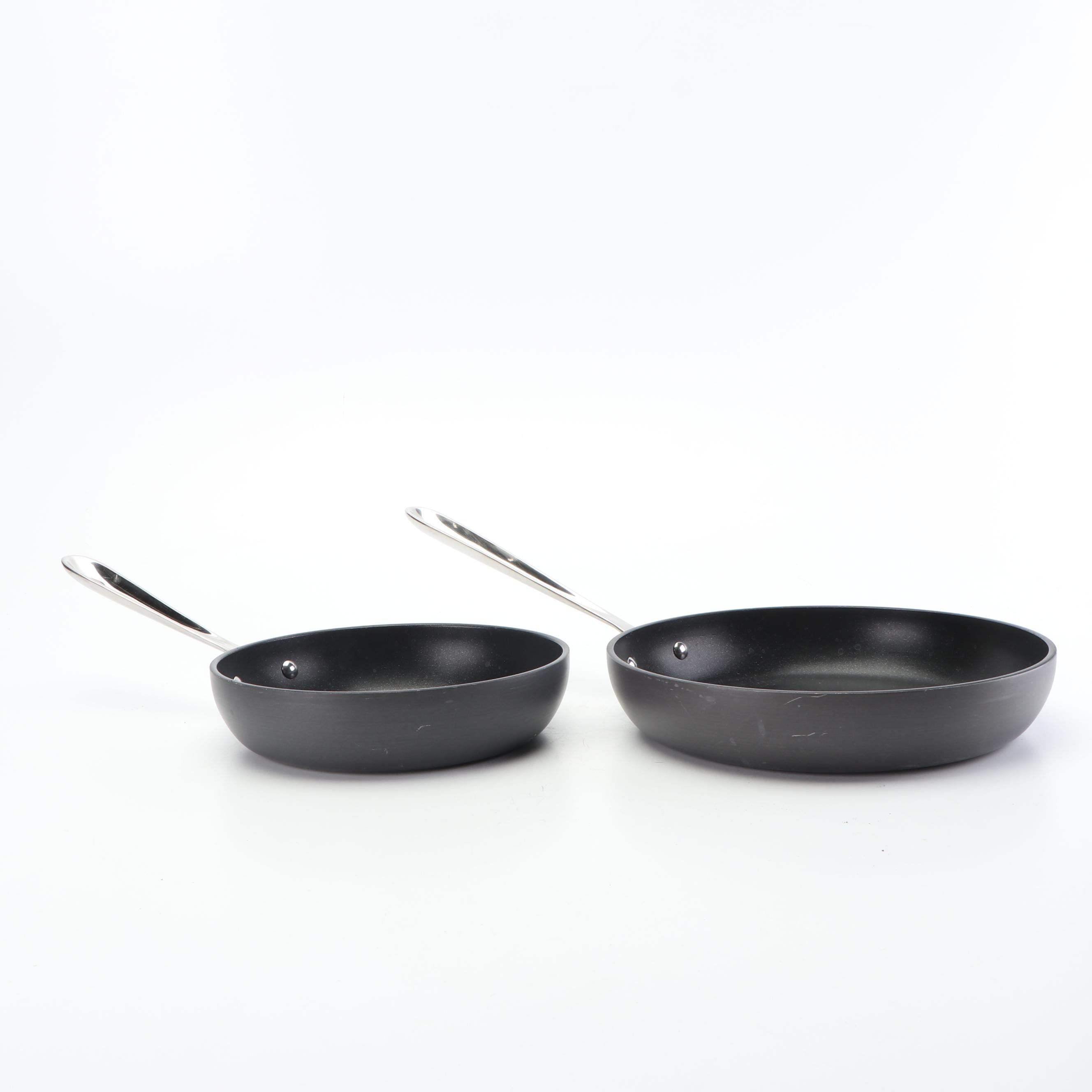 """All-Clad 8"""" and 10"""" Skillets"""