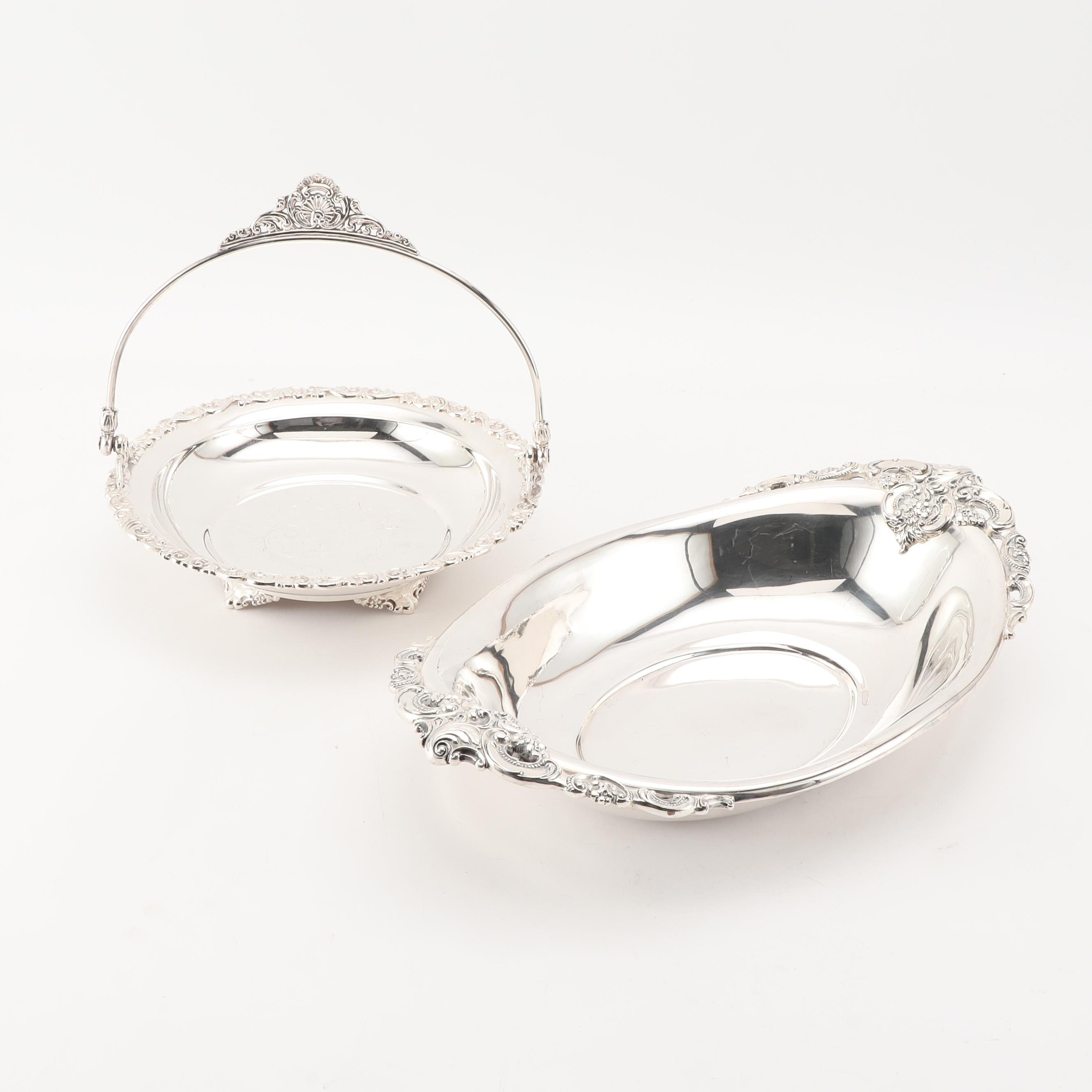 Wallace Silver Plate Serving Pieces