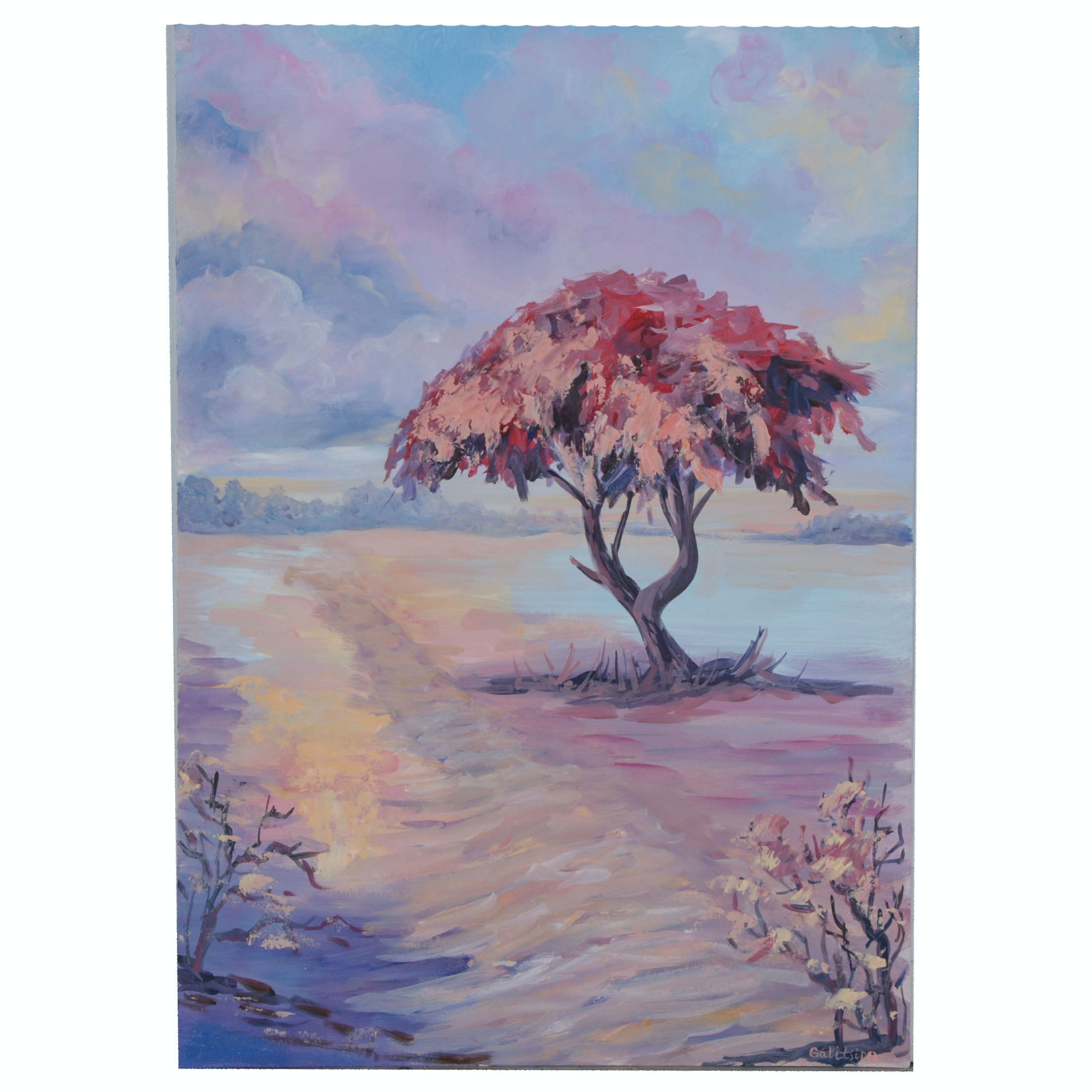 Galitsino Oil Painting of Landscape