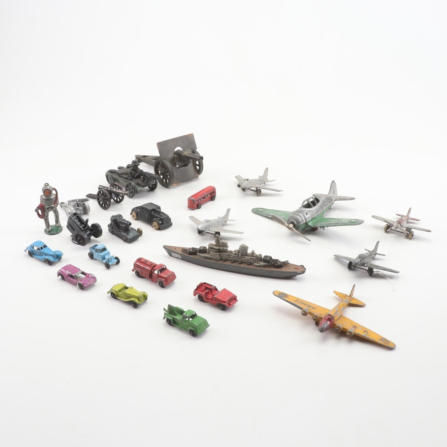 Painted Die Cast Vehicles, Early 20th Century