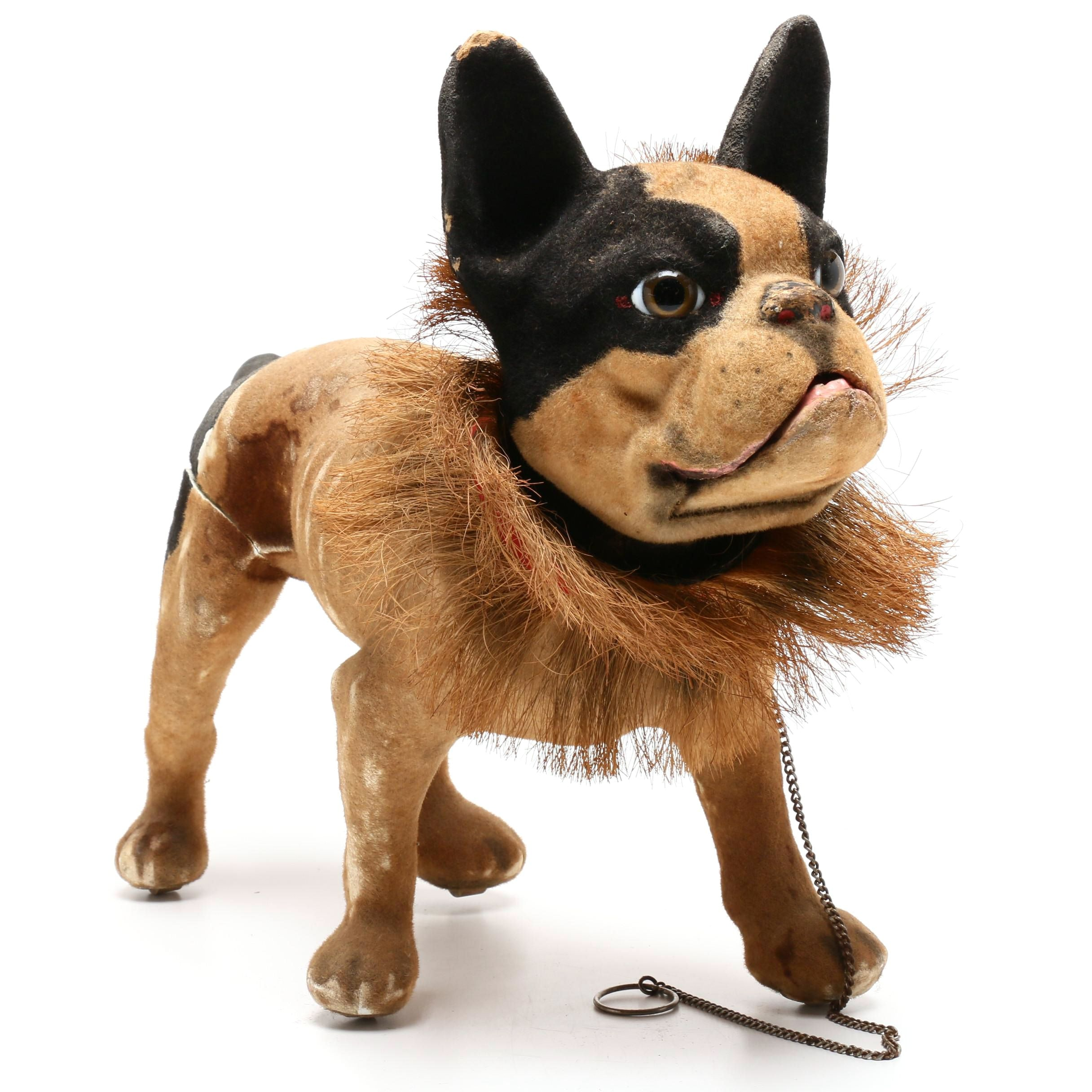 Barking French Bulldog Automation Toy By Roullet & Decamps, Circa 1890s