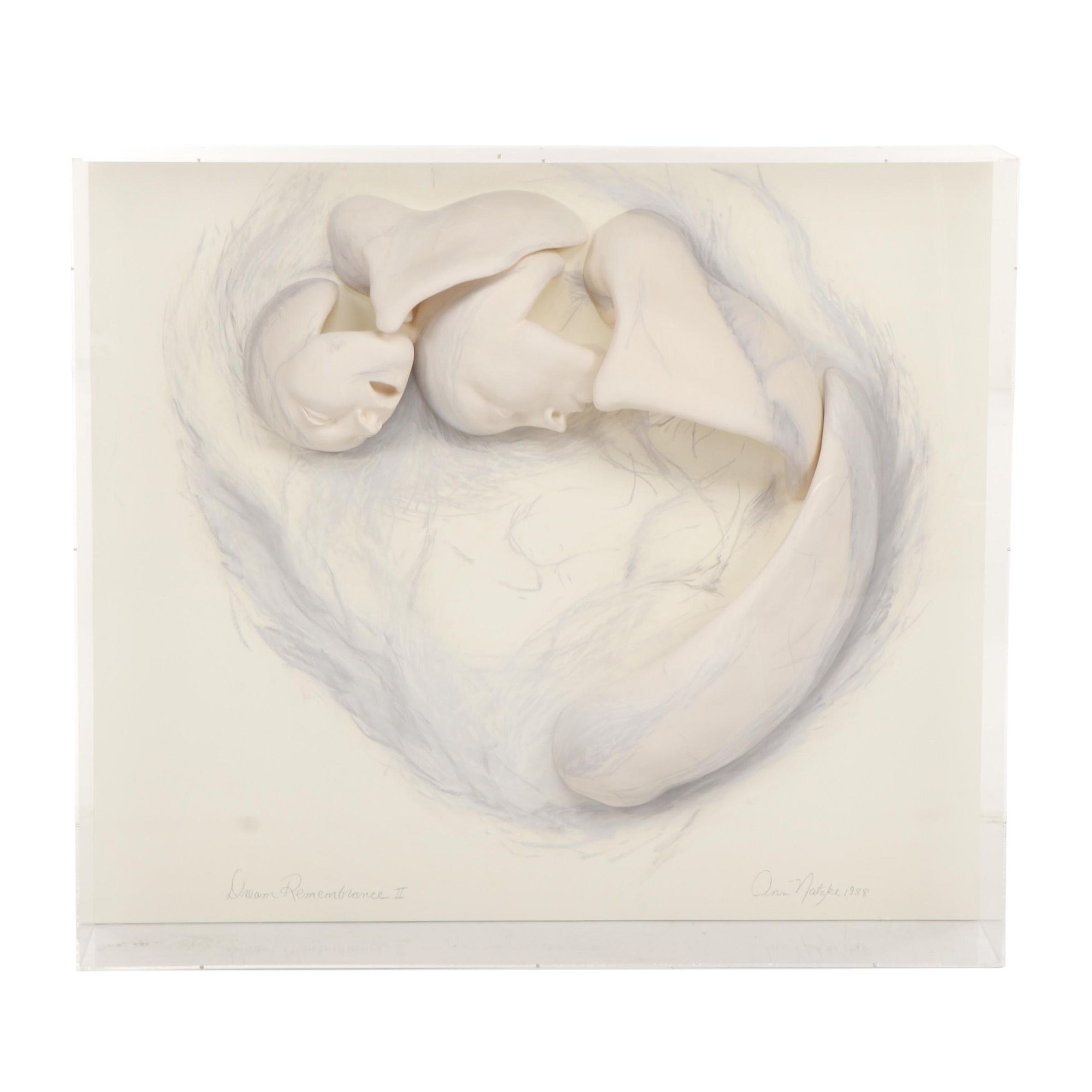 "Ann Natzke Relief Sculpture ""Dream Remembrance II"""