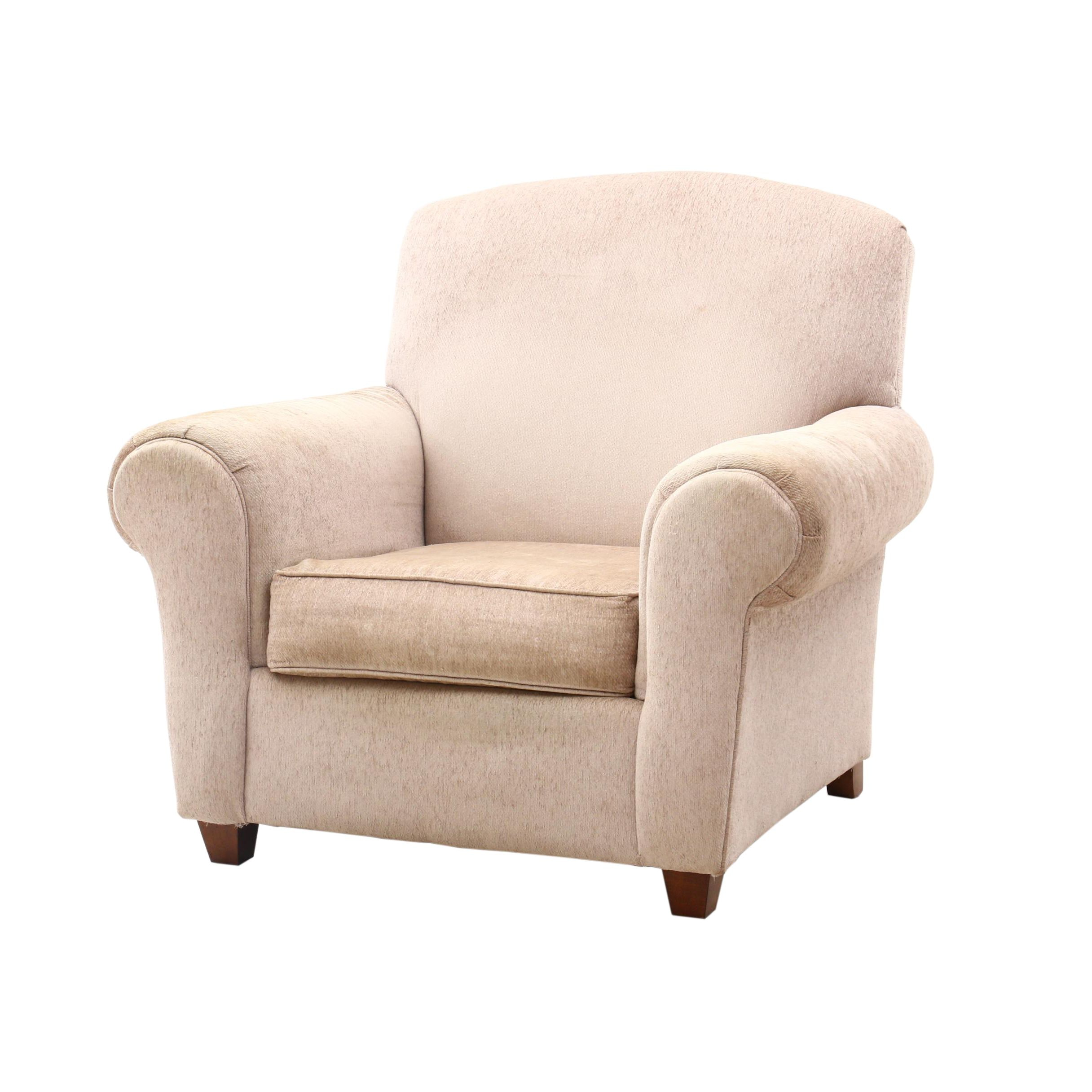 Contemporary Upholstered Arm Chair