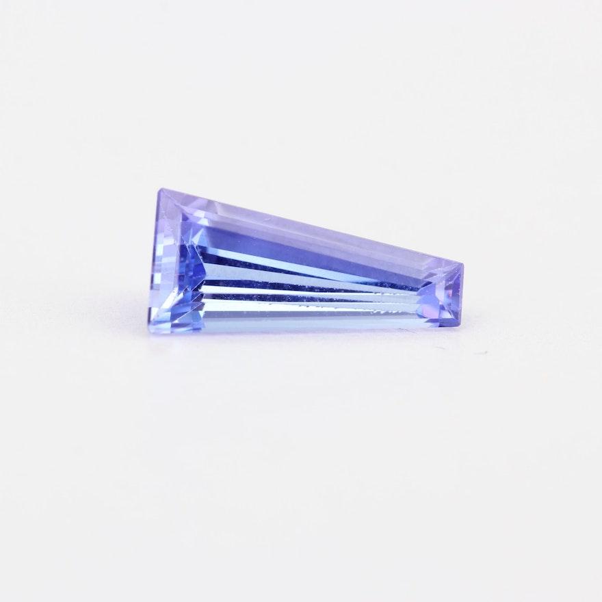Loose 1.48 CT Tanzanite Gemstone