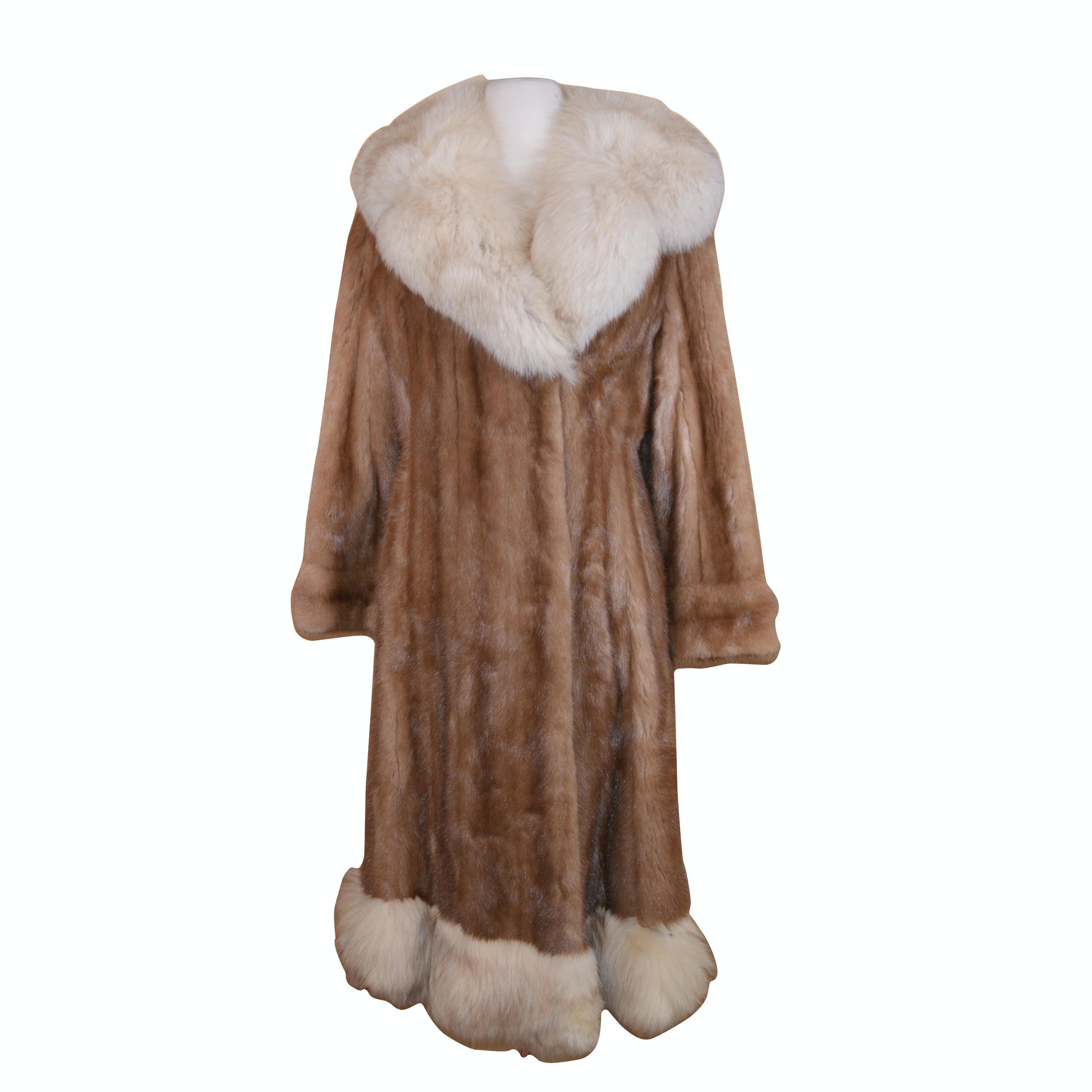 Kay's Shoppe Marten and Fox Fur Coat, Vintage