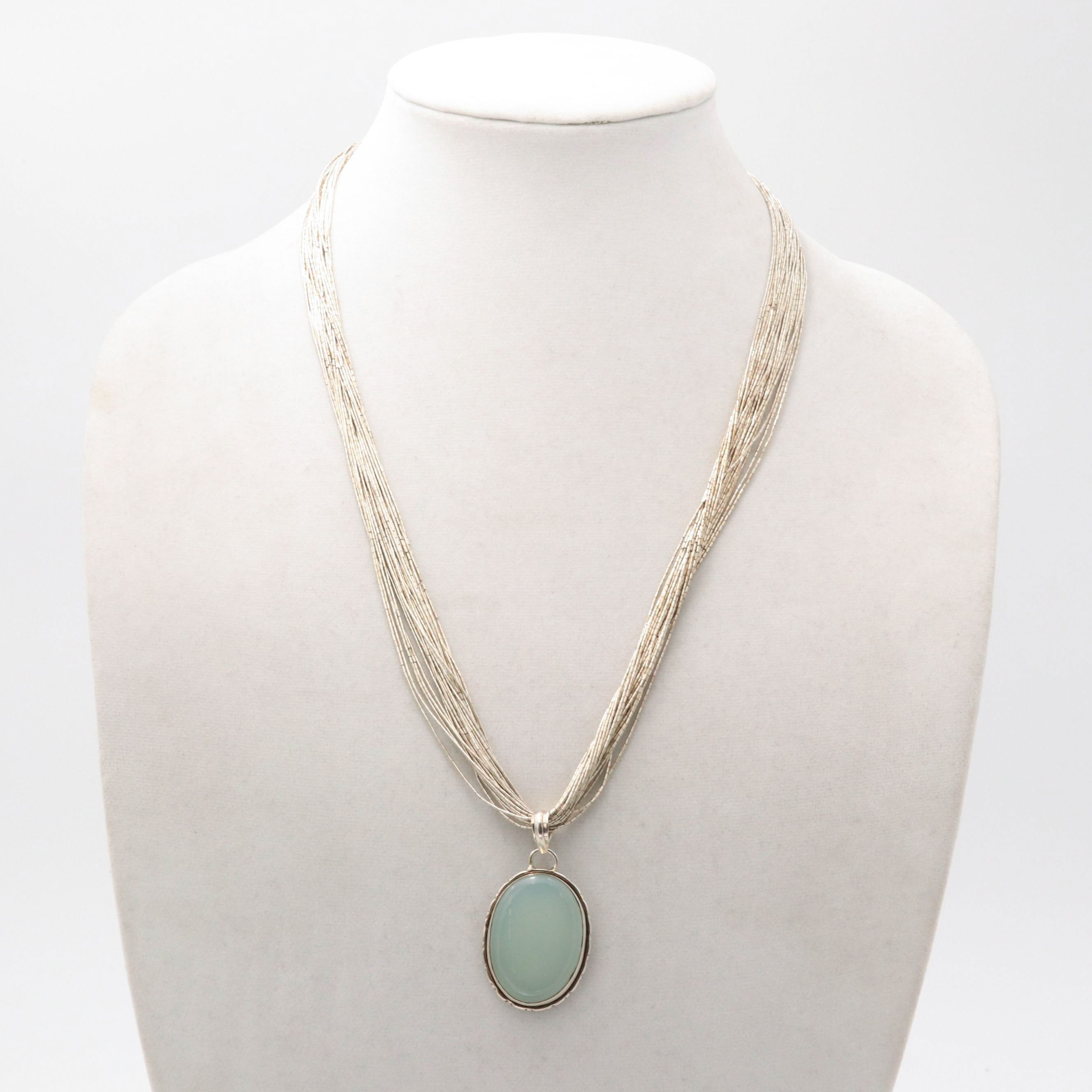 Sterling Silver Multi-Chain Necklace