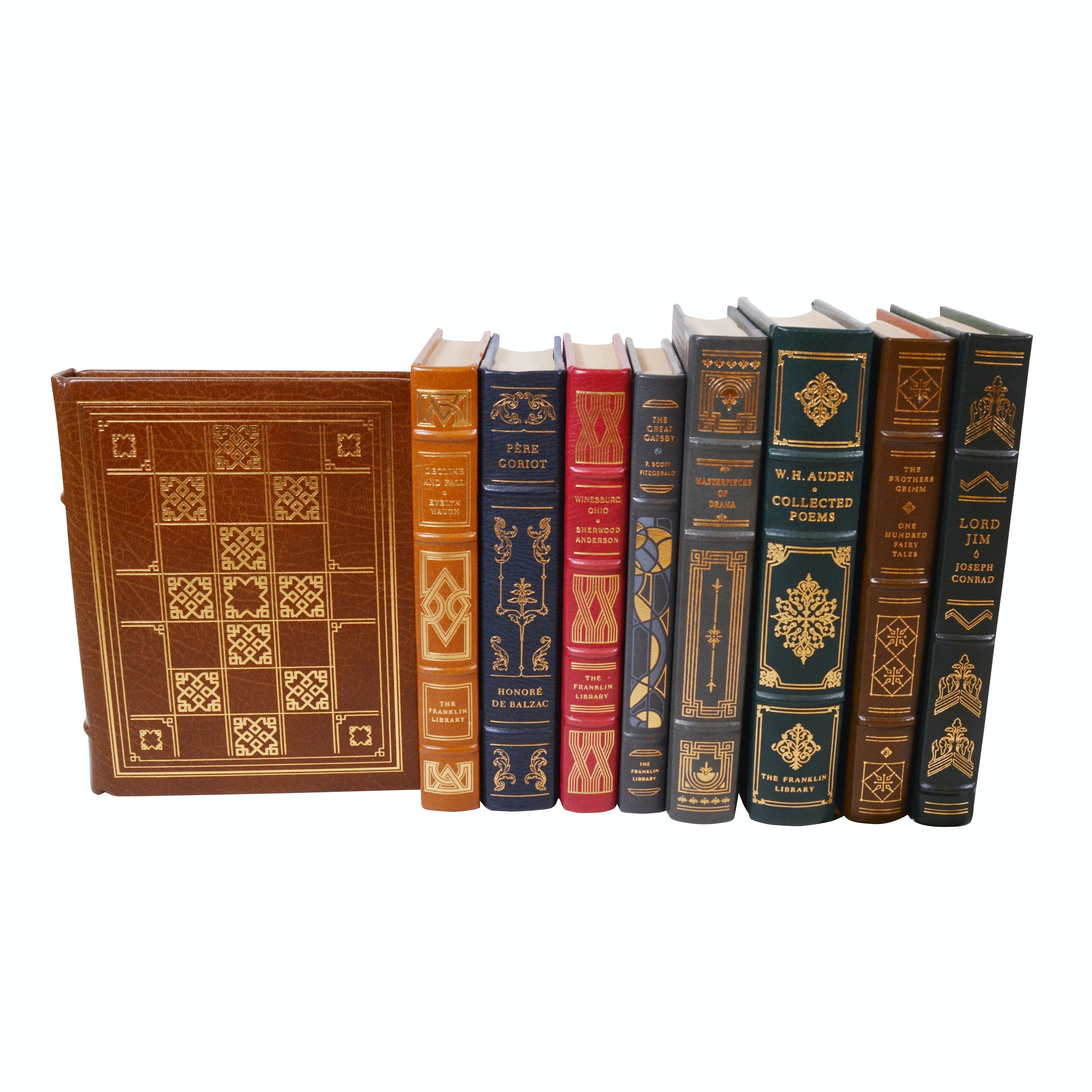 """Franklin Library Leather Bound Classics with """"The Great Gatsby"""""""