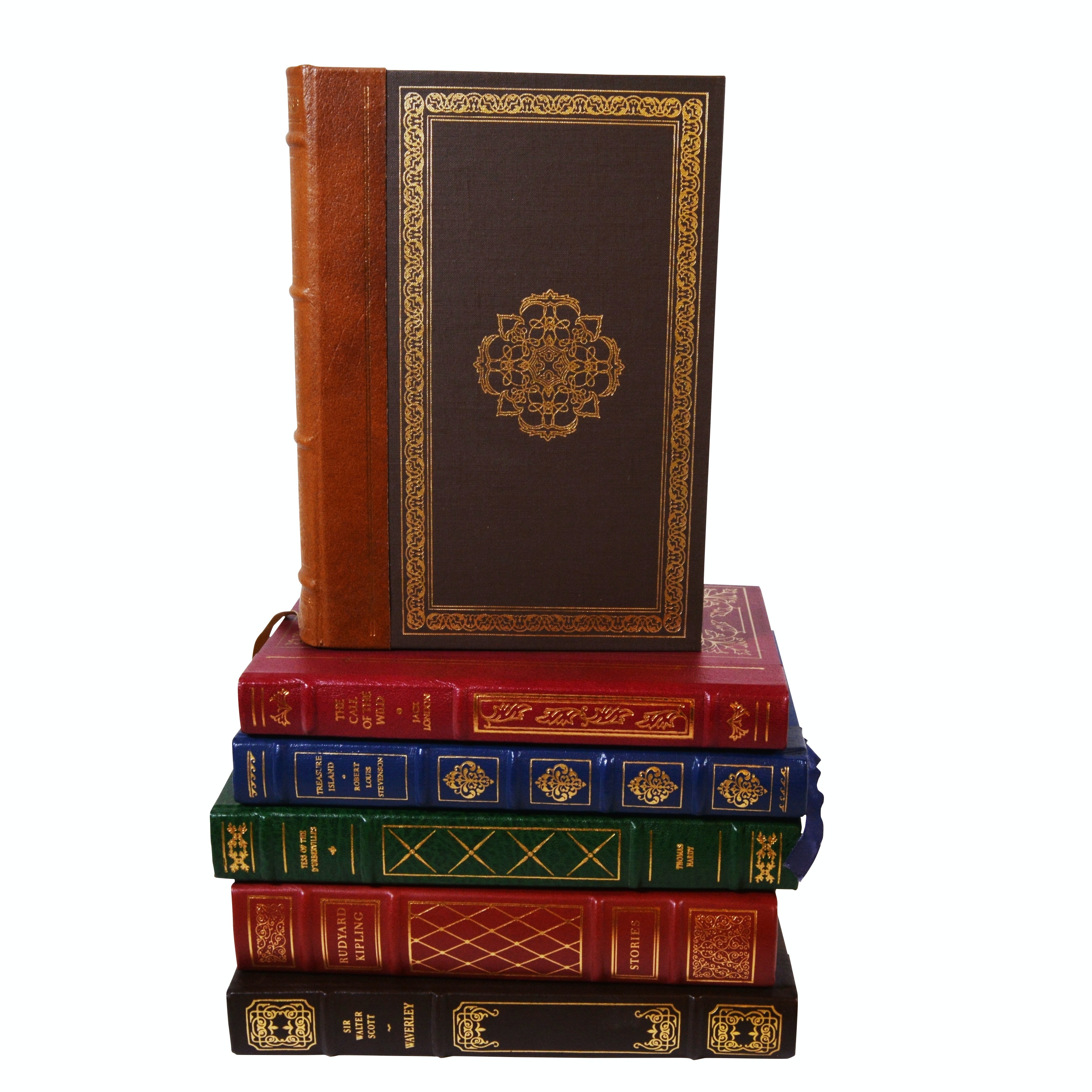 """Franklin Library Leather Bound Classics with """"The Good Earth"""" by Pearl S. Buck"""