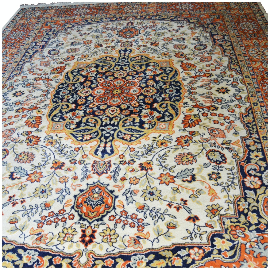 Power Loomed Indo-Persian Wool Room Sized Rug