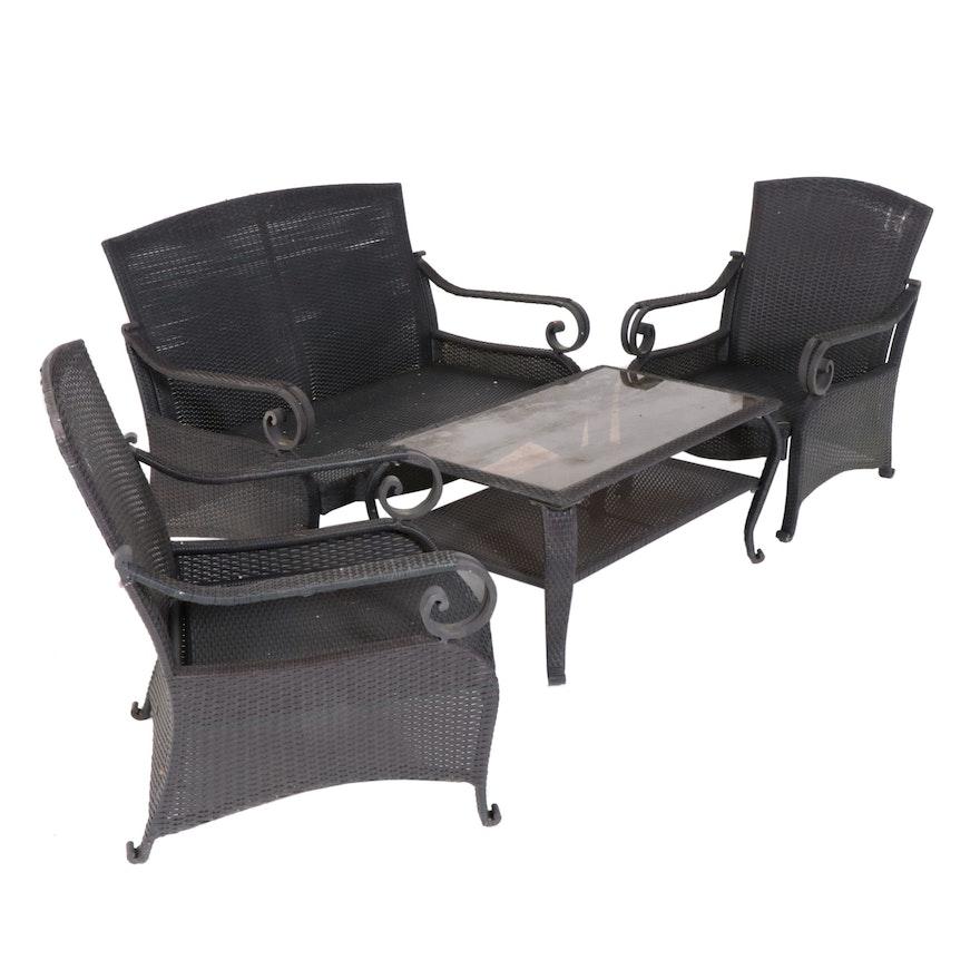 Hampton Bay Patio Furniture Set Ebth