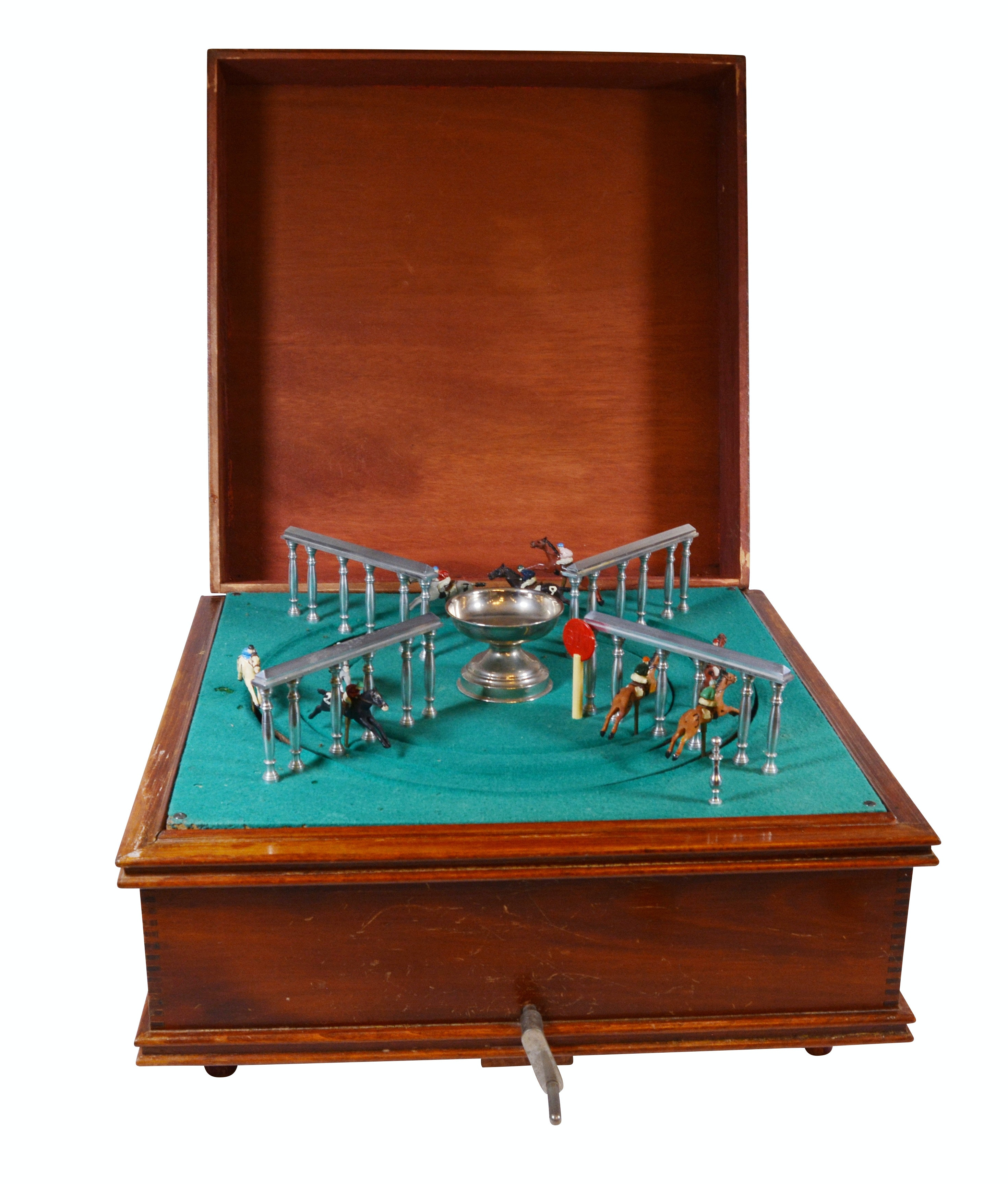 Mechanical Horse Racing Game, Early 20th Century