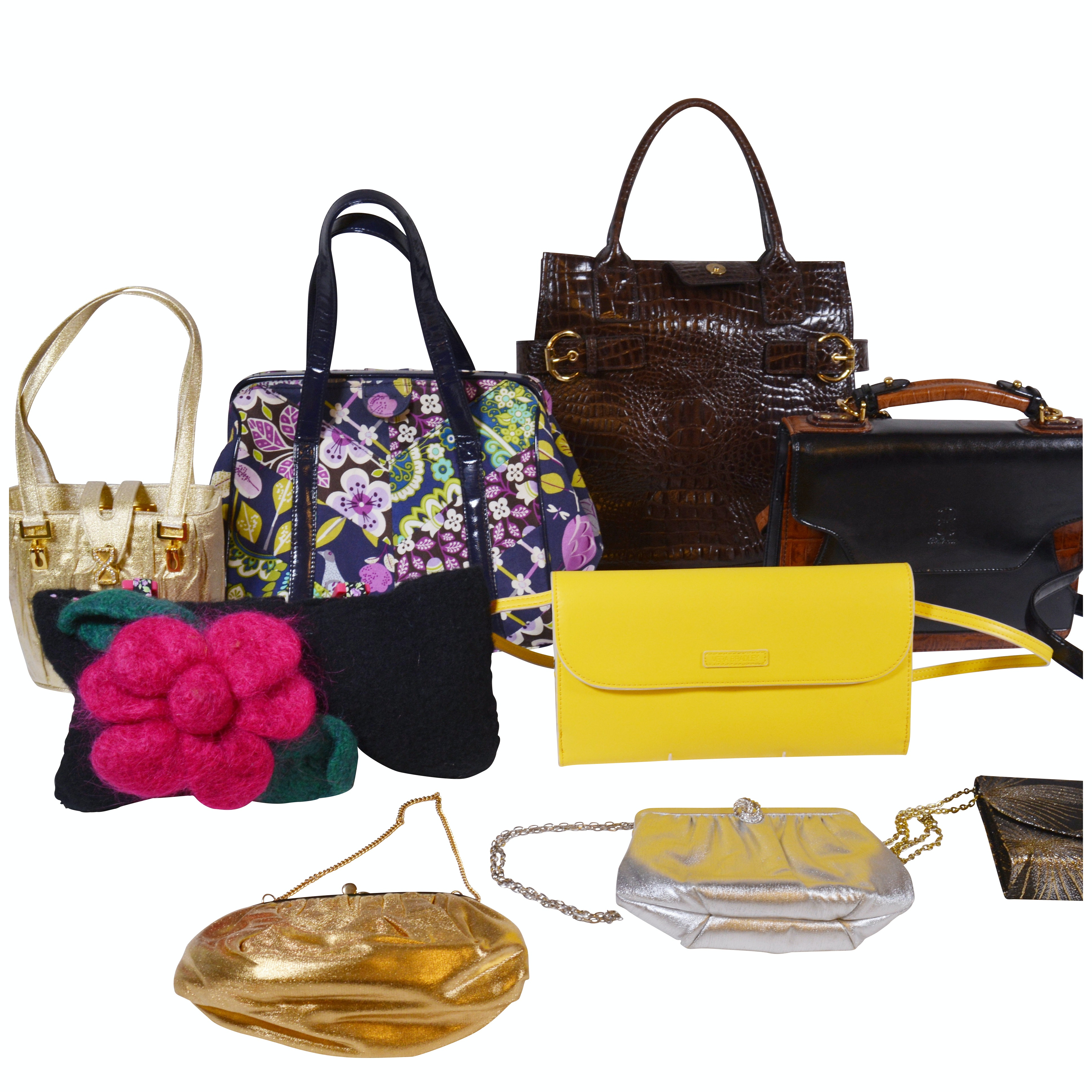 Vera Bradley Leather Handbag, Peck & Peck, and Other Handbags