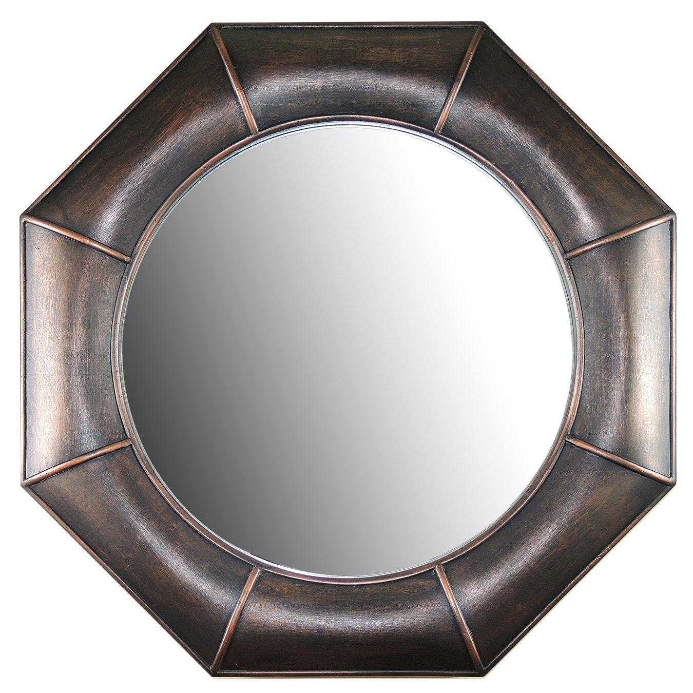 Contemporary Octagonal  Mirror