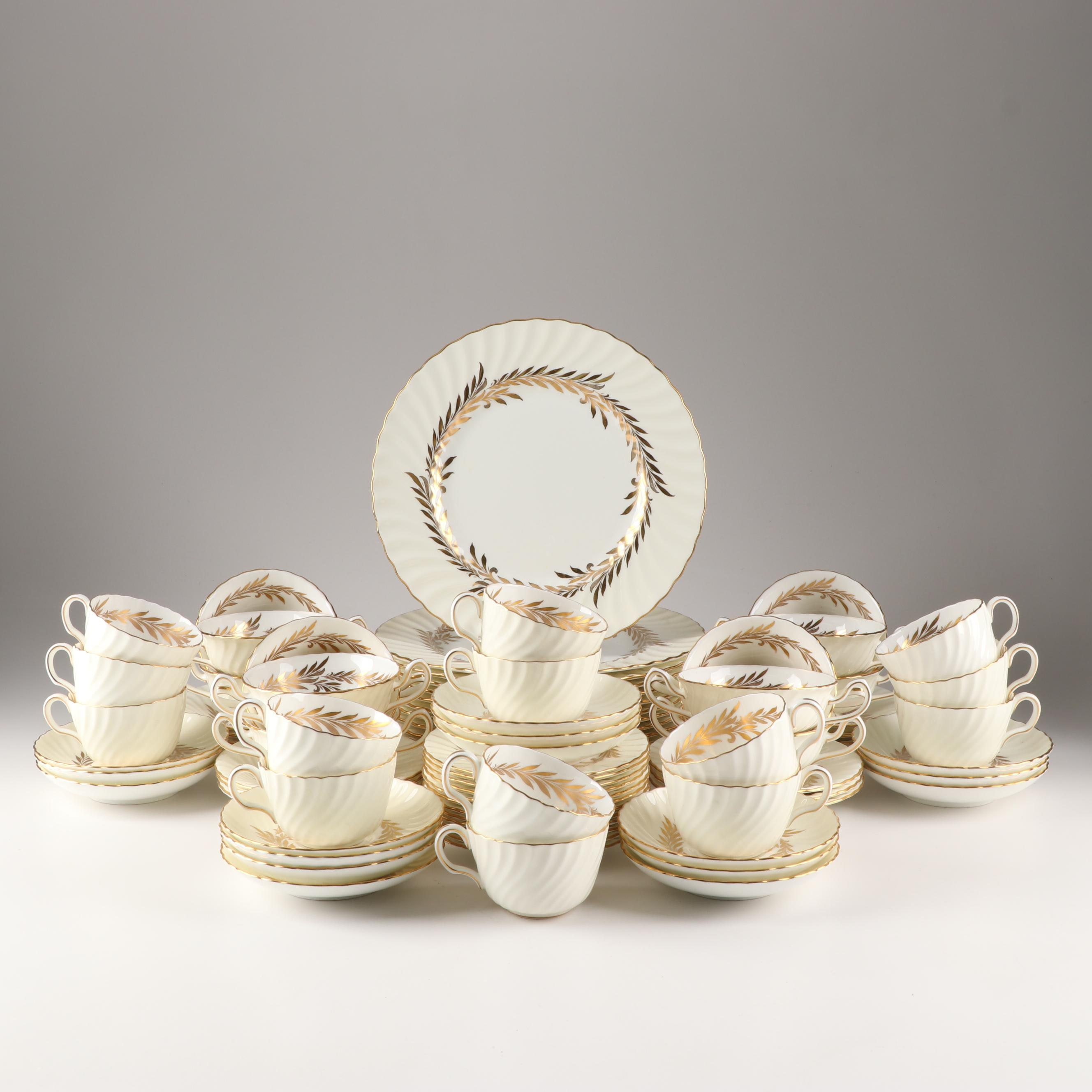 "Minton ""Golden Symphony"" Bone China Dinnerware"