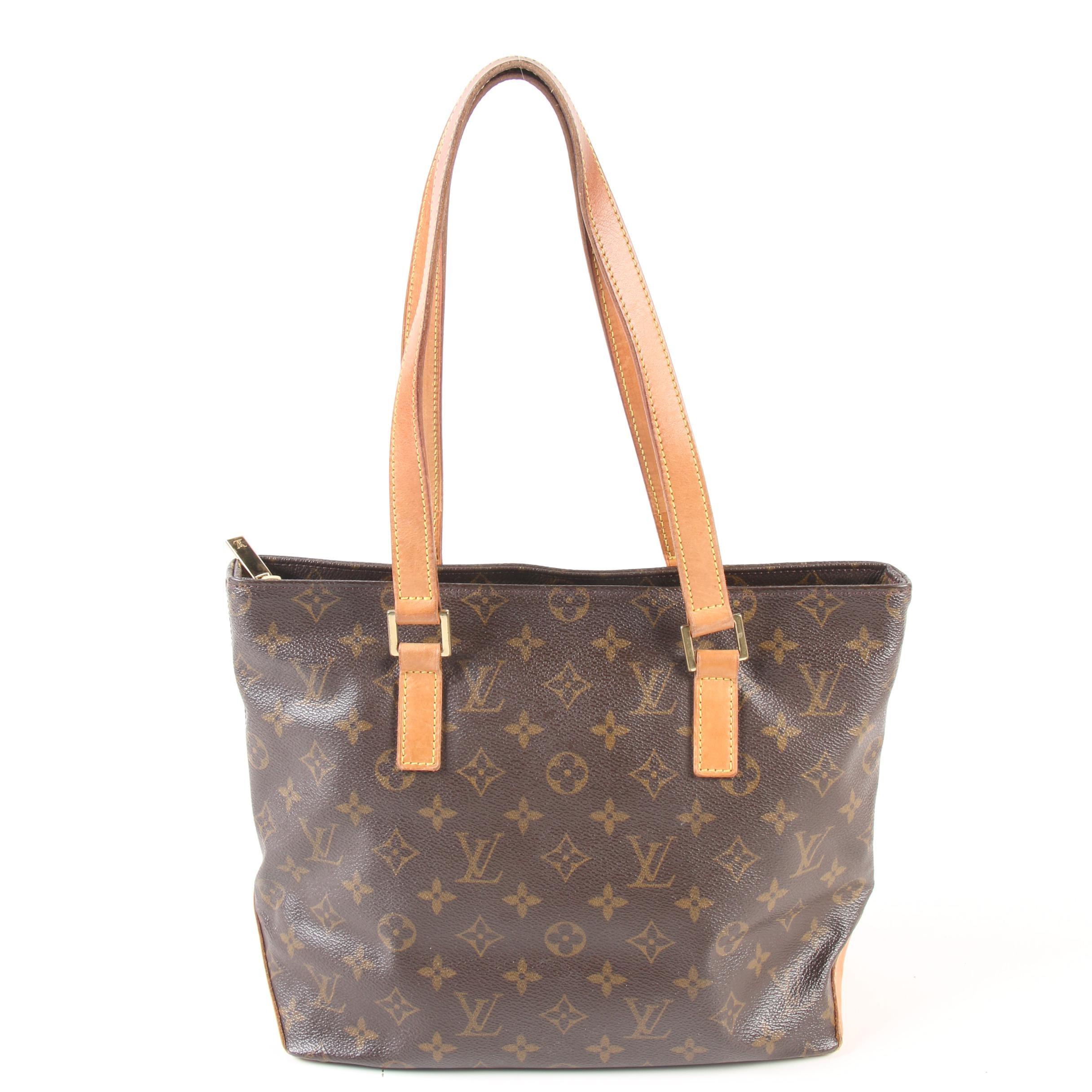 Louis Vuitton Paris Cabas Piano Shoulder Bag in Monogram Canvas