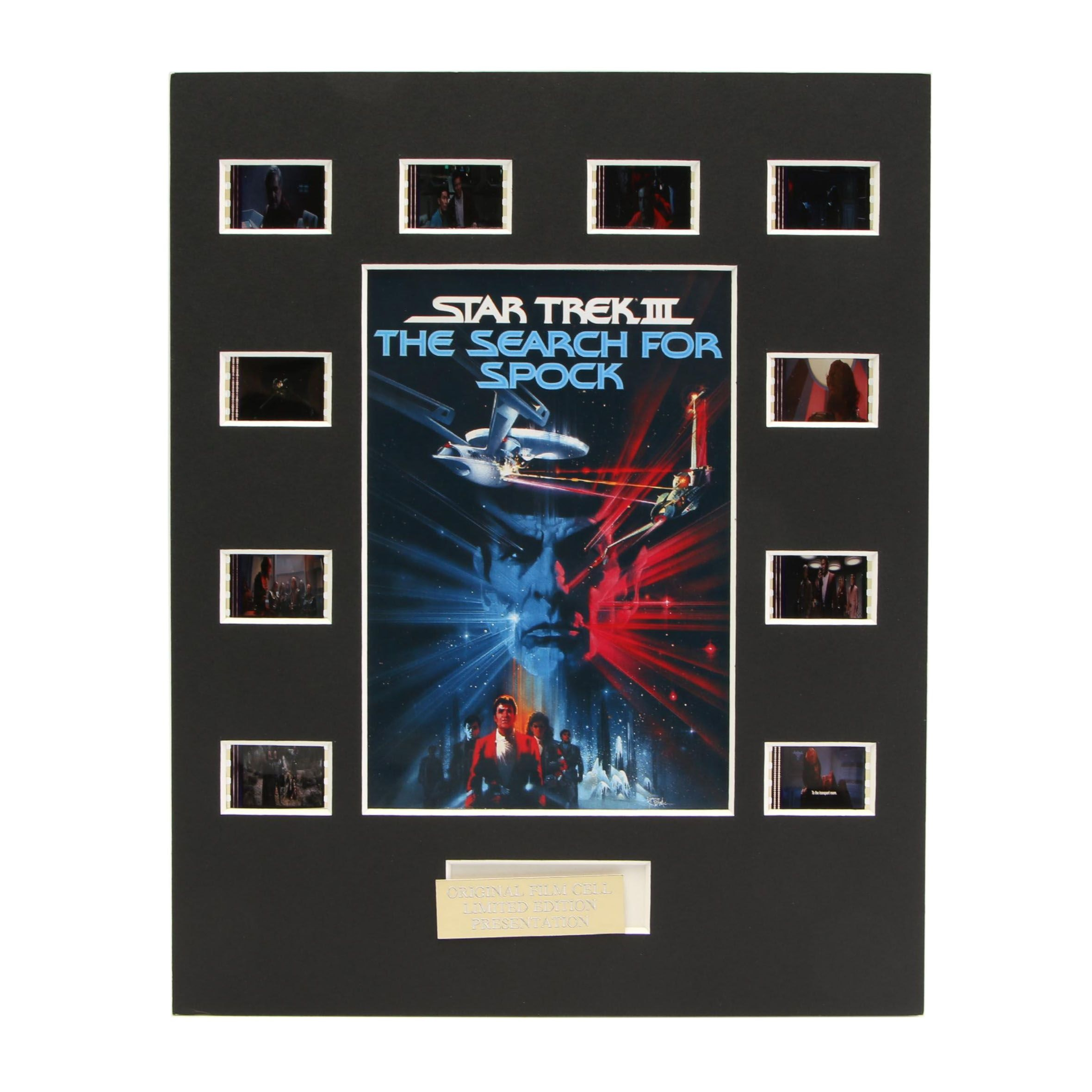 """Star Trek III: The Search for Spock"" Original Film Cell Limited Edition Display"