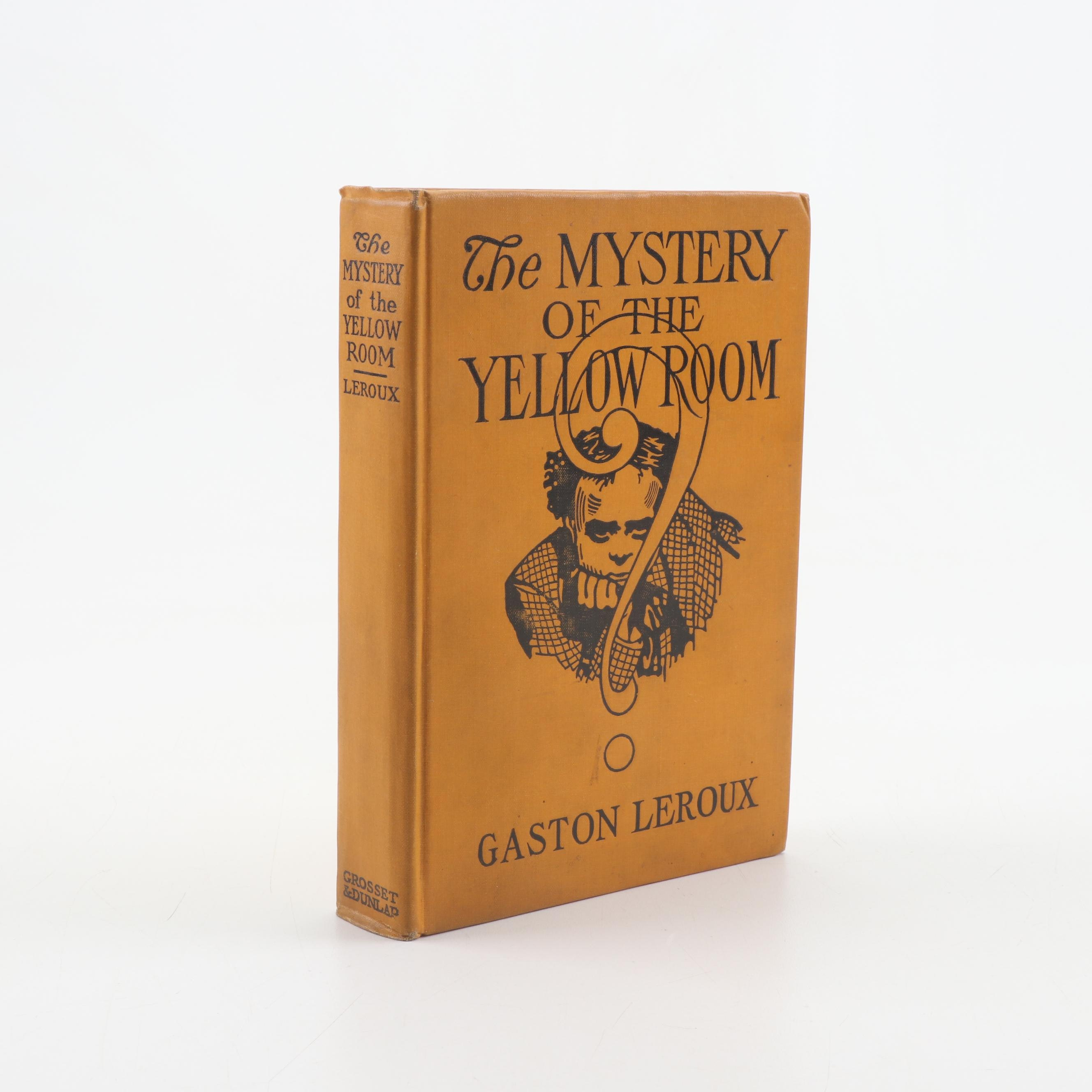 """1908 """"The Mystery of the Yellow Room"""" by Gaston Leroux"""
