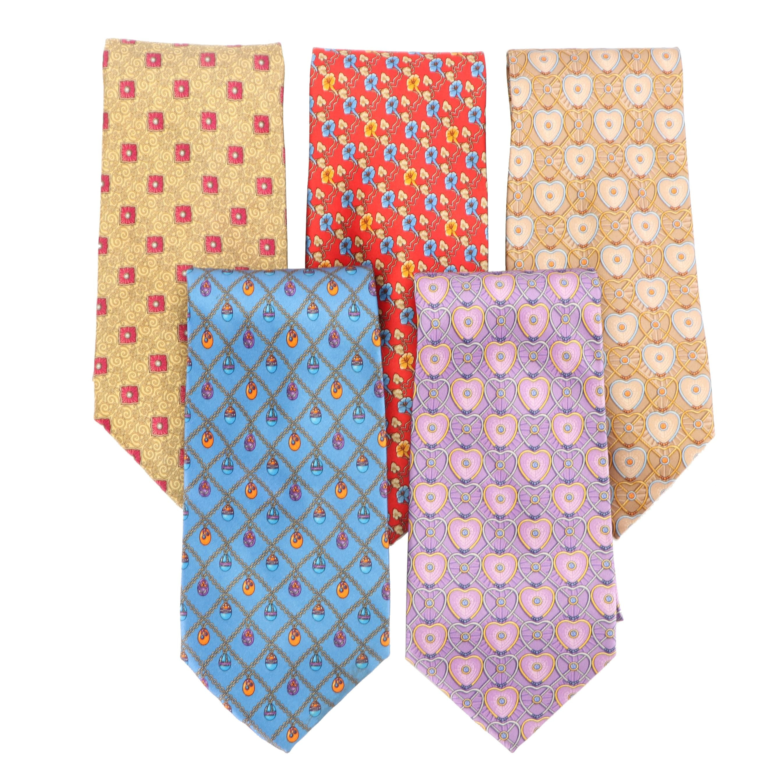 Fabergé Silk Neckties, Made in Italy