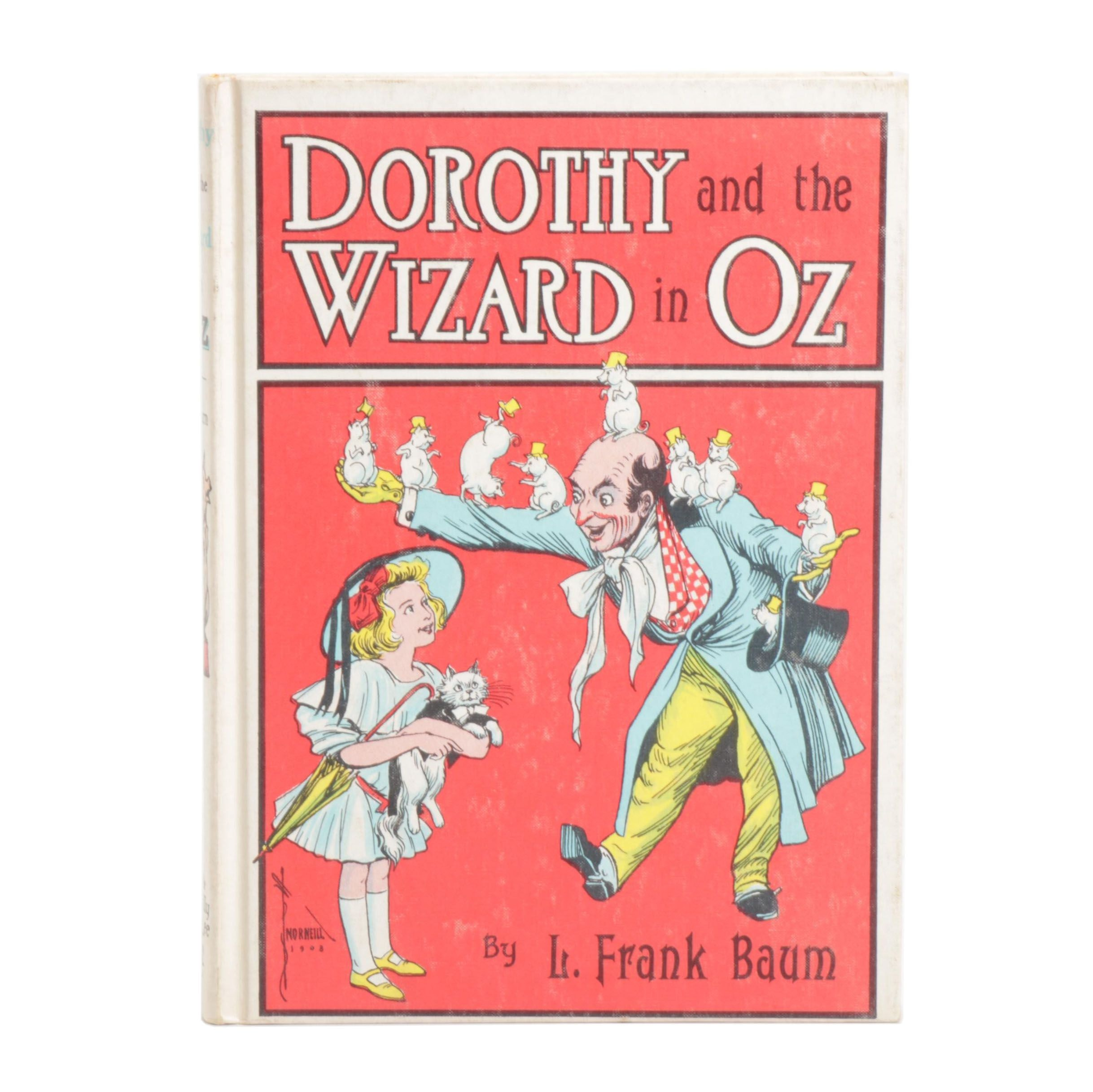 """1908 First Edition """"Dorothy and the Wizard in Oz"""" by L. Frank Baum"""