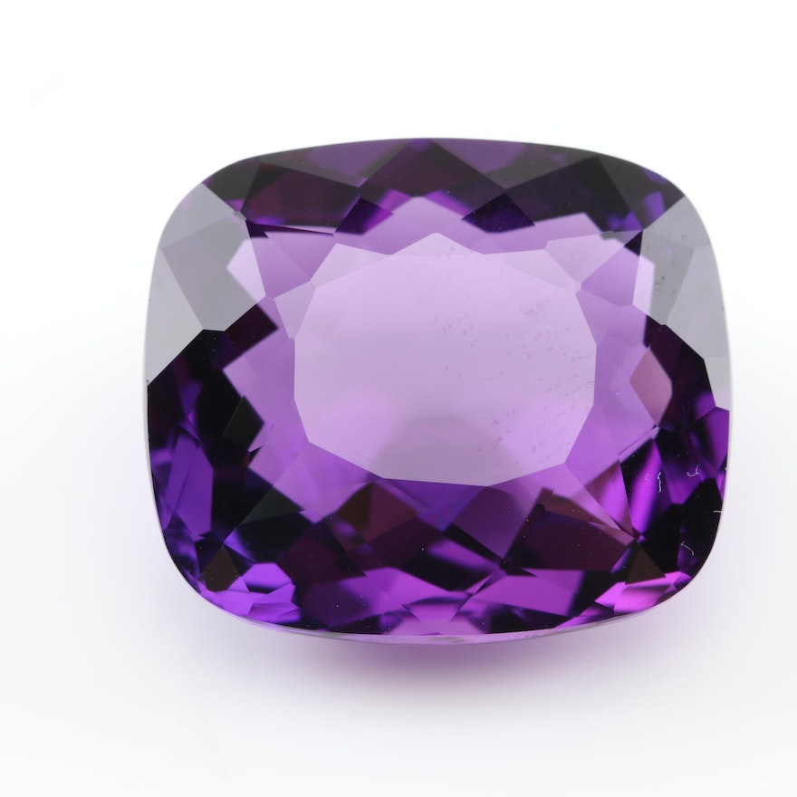 Loose 28.67 CT Amethyst Gemstone