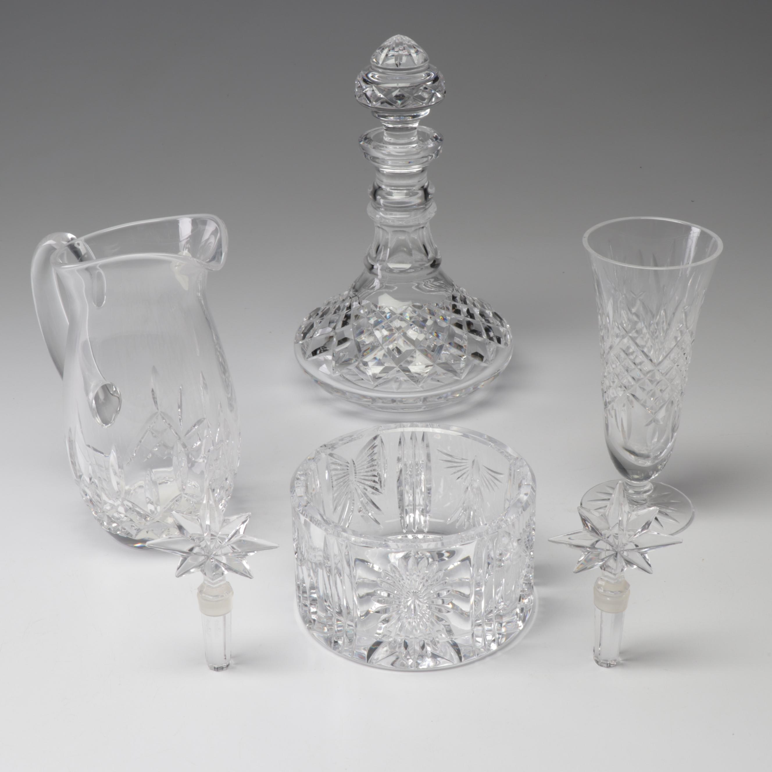 "Waterford Cyrstal Barware in ""Millennium"", ""Lismore Nouveau"" and More"