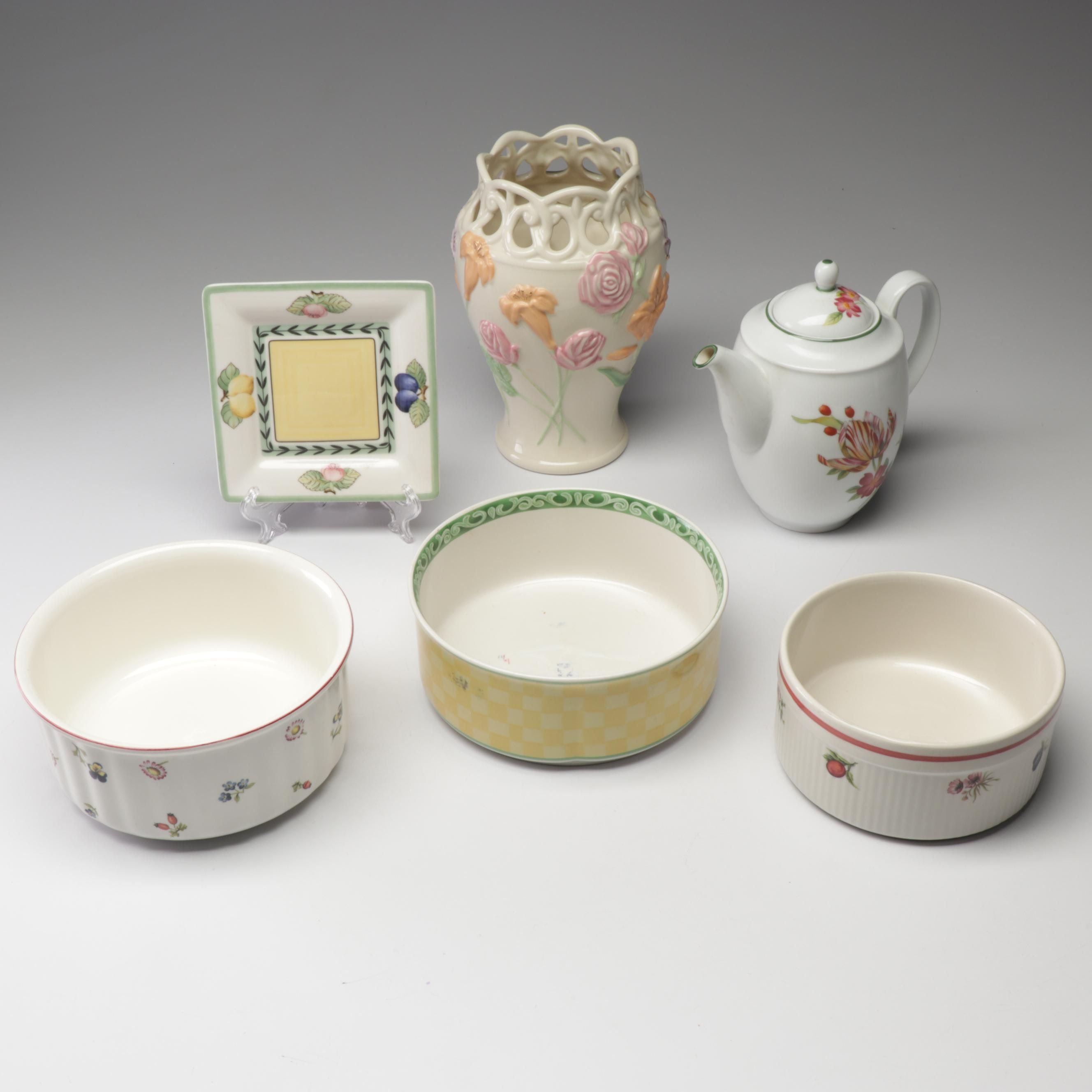 Lenox, Royal Worcester and Other Porcelain Tableware and Decor
