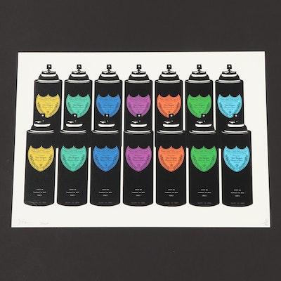 """Death NYC Graphic Print """"14 Drunk Sprays"""""""