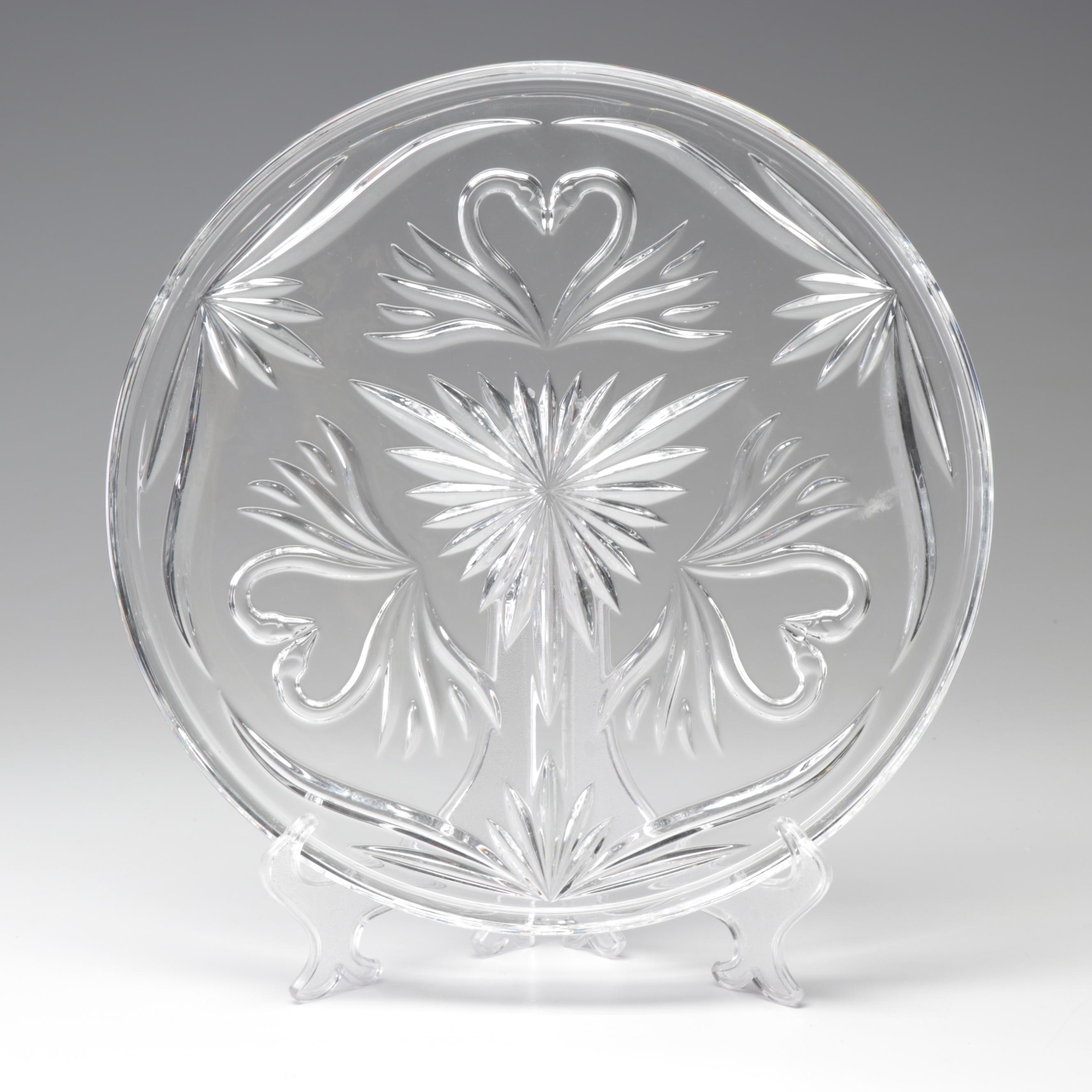 Waterford Crystal Wedding Collection Cake Plate