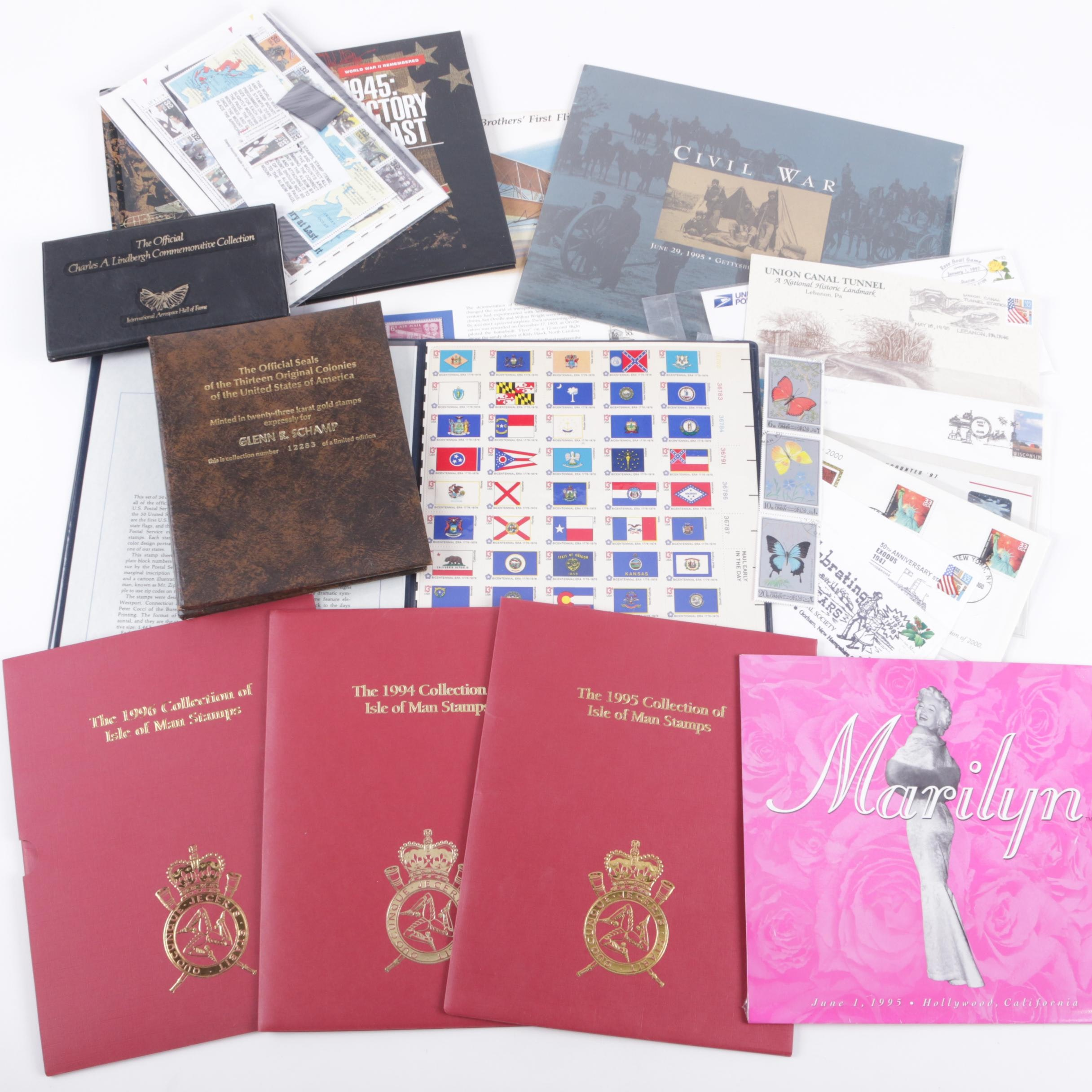 USPS and International Stamps and Postal Covers