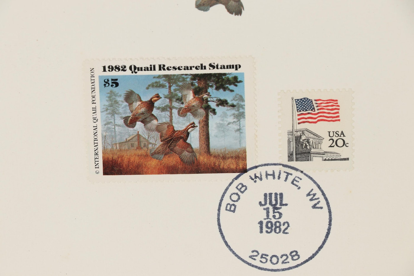 United States Quail Research Stamps, 1982-1985