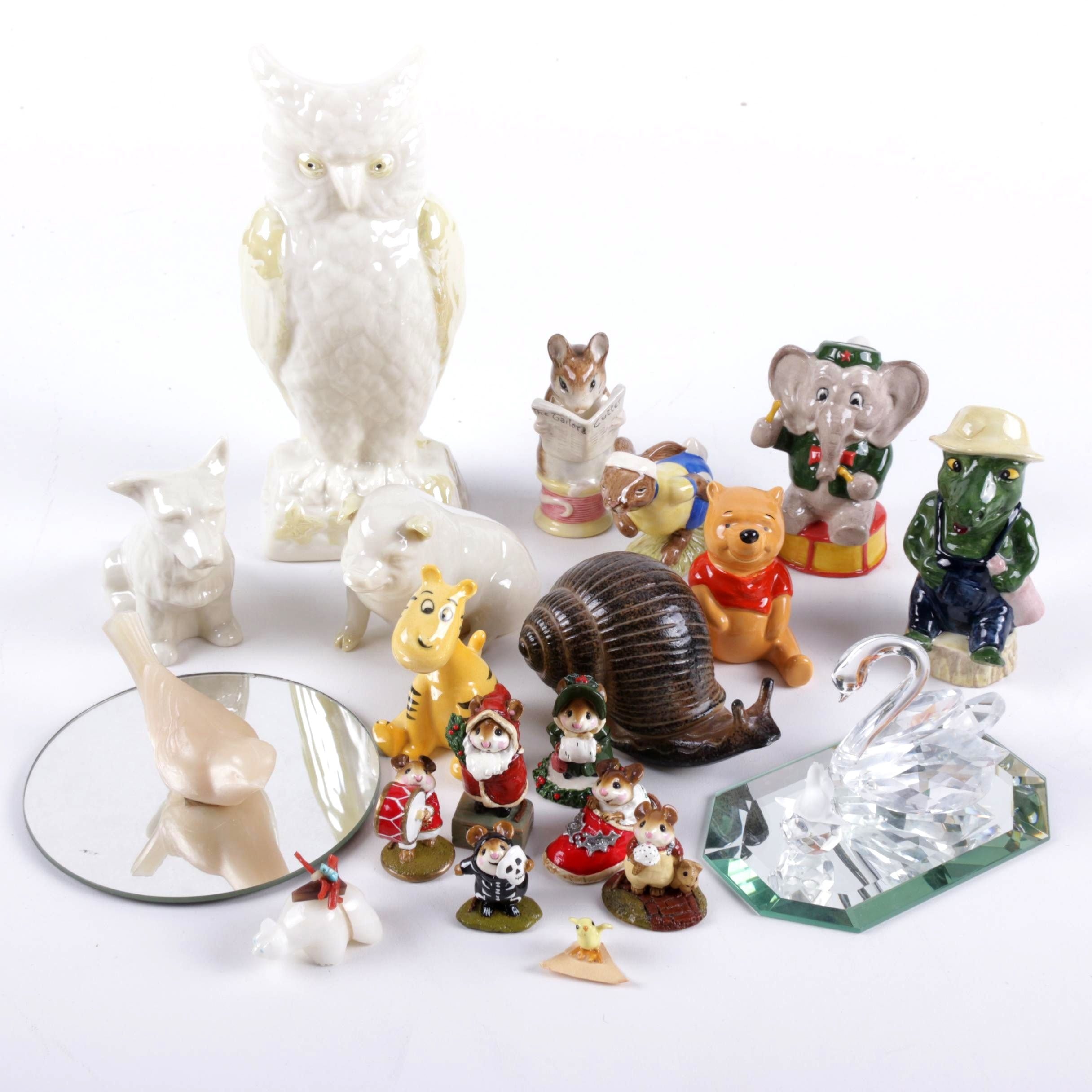 Disney, Belleek, and More Porcelain Figurines