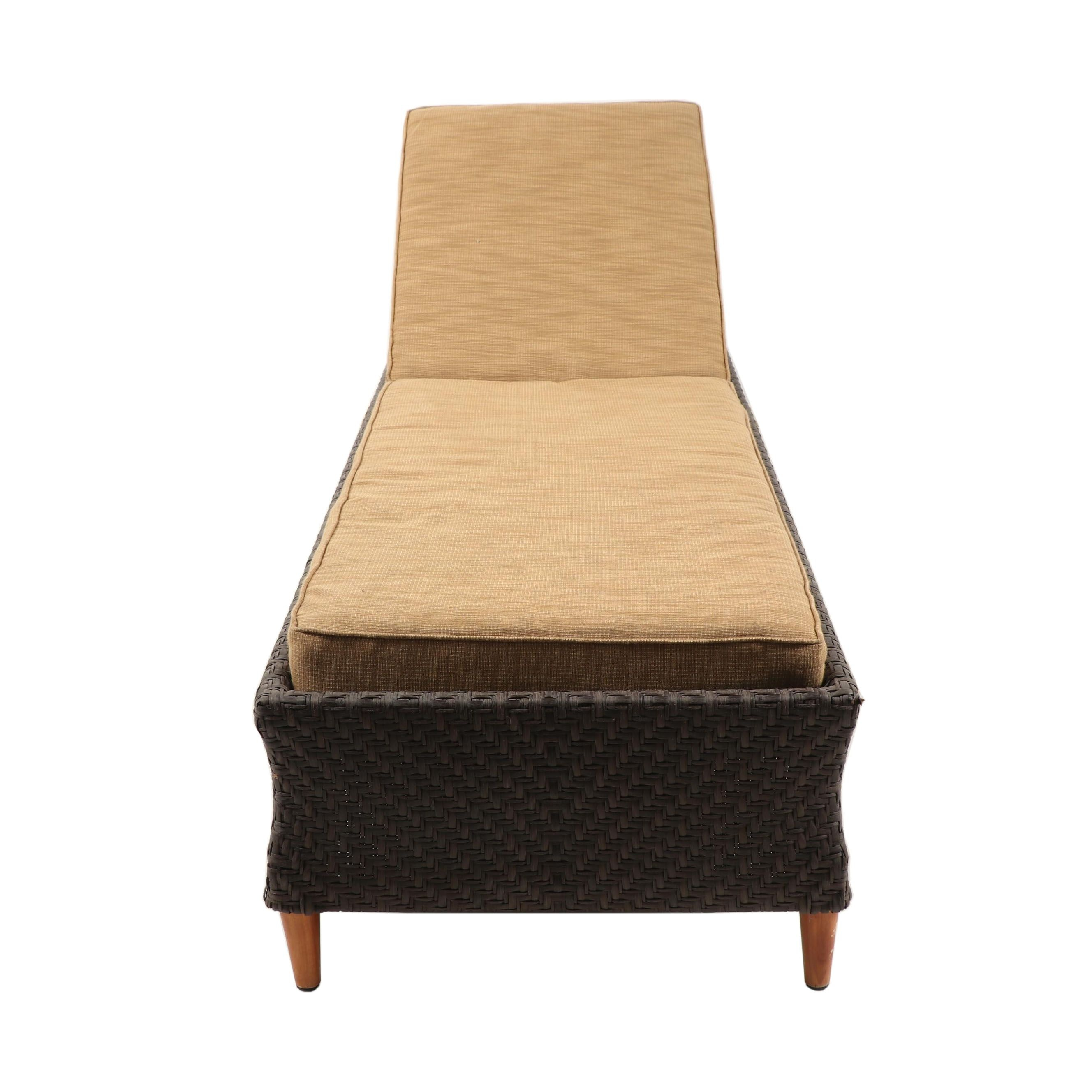 Brown Jordan Outdoor Convertible Bench/Chaise Lounge