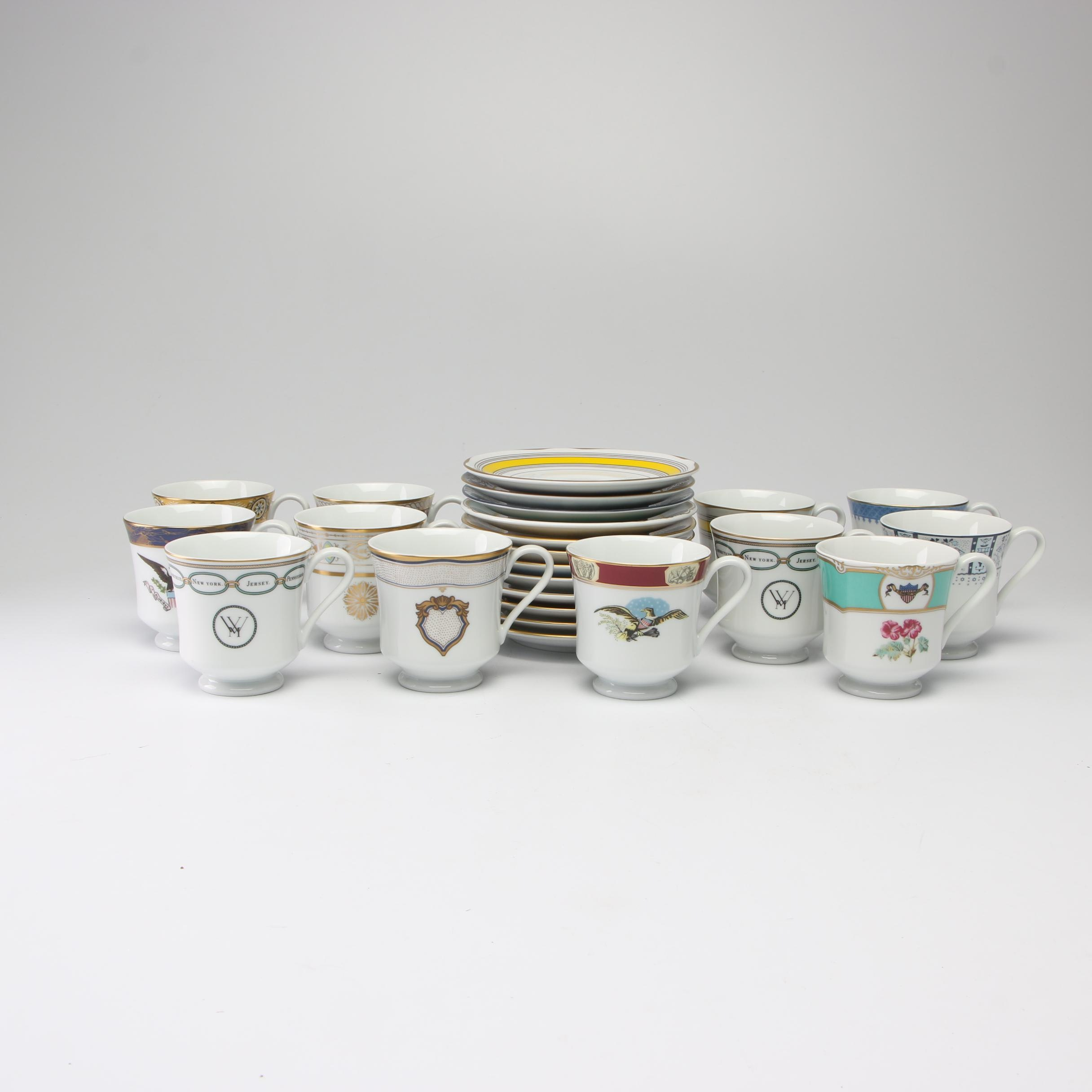 """Woodmere """"White House Collection"""" Presidential Cup Sets"""