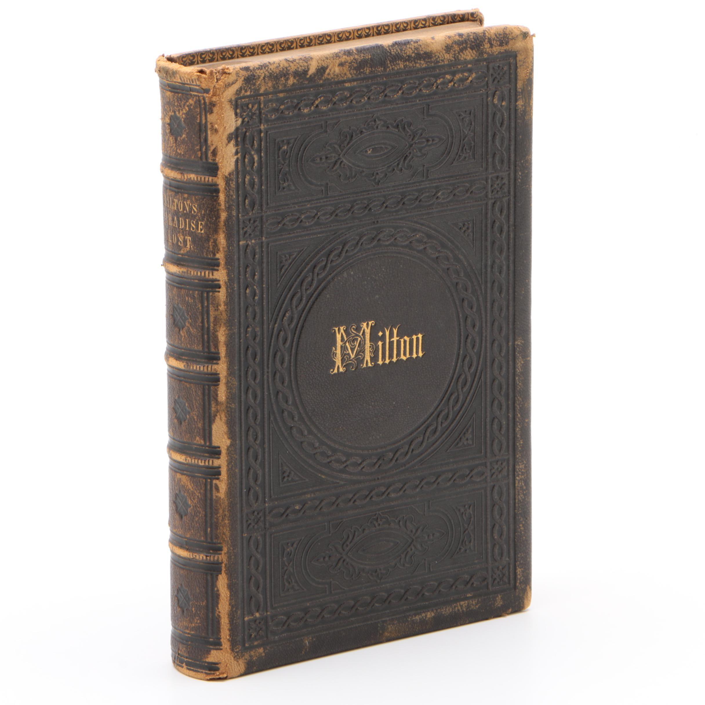 "Milton's ""Paradise Lost"" Edited by Rev. George Gilfillan, 1864"