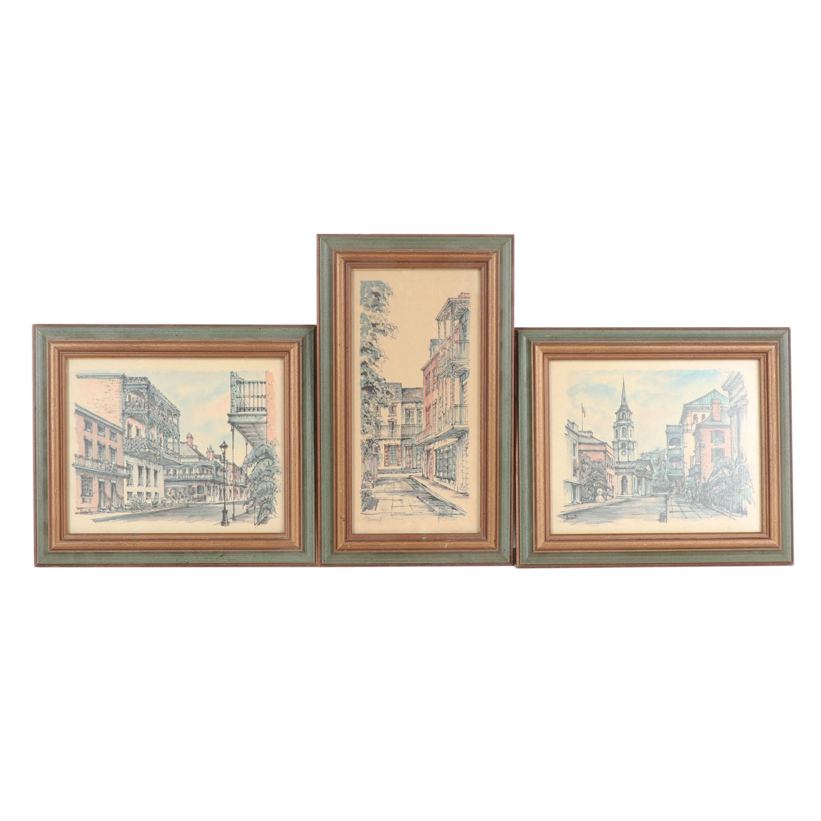 Offset Lithographs of New Orleans