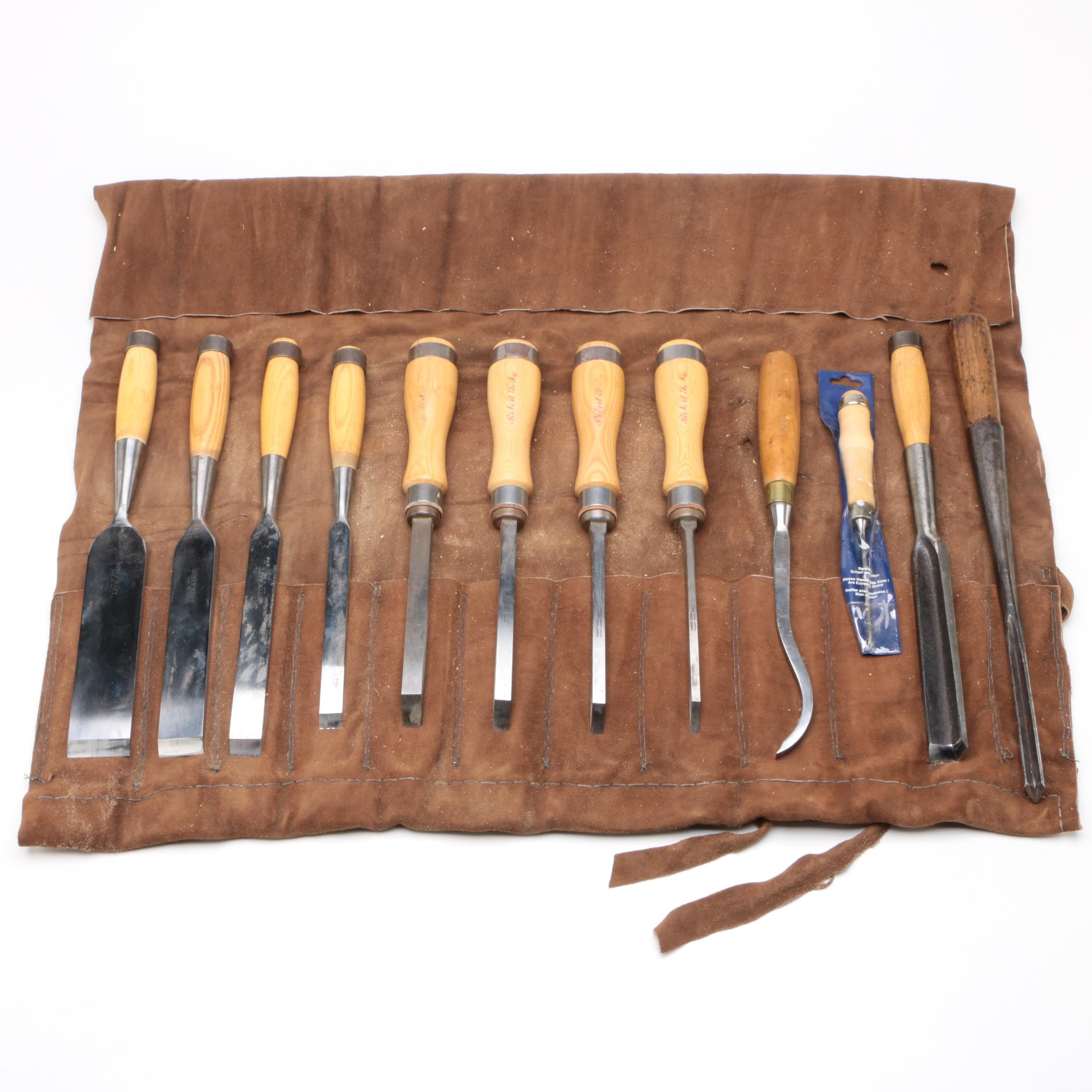 Sorby and Woodcraft Woodworking Tools and Others