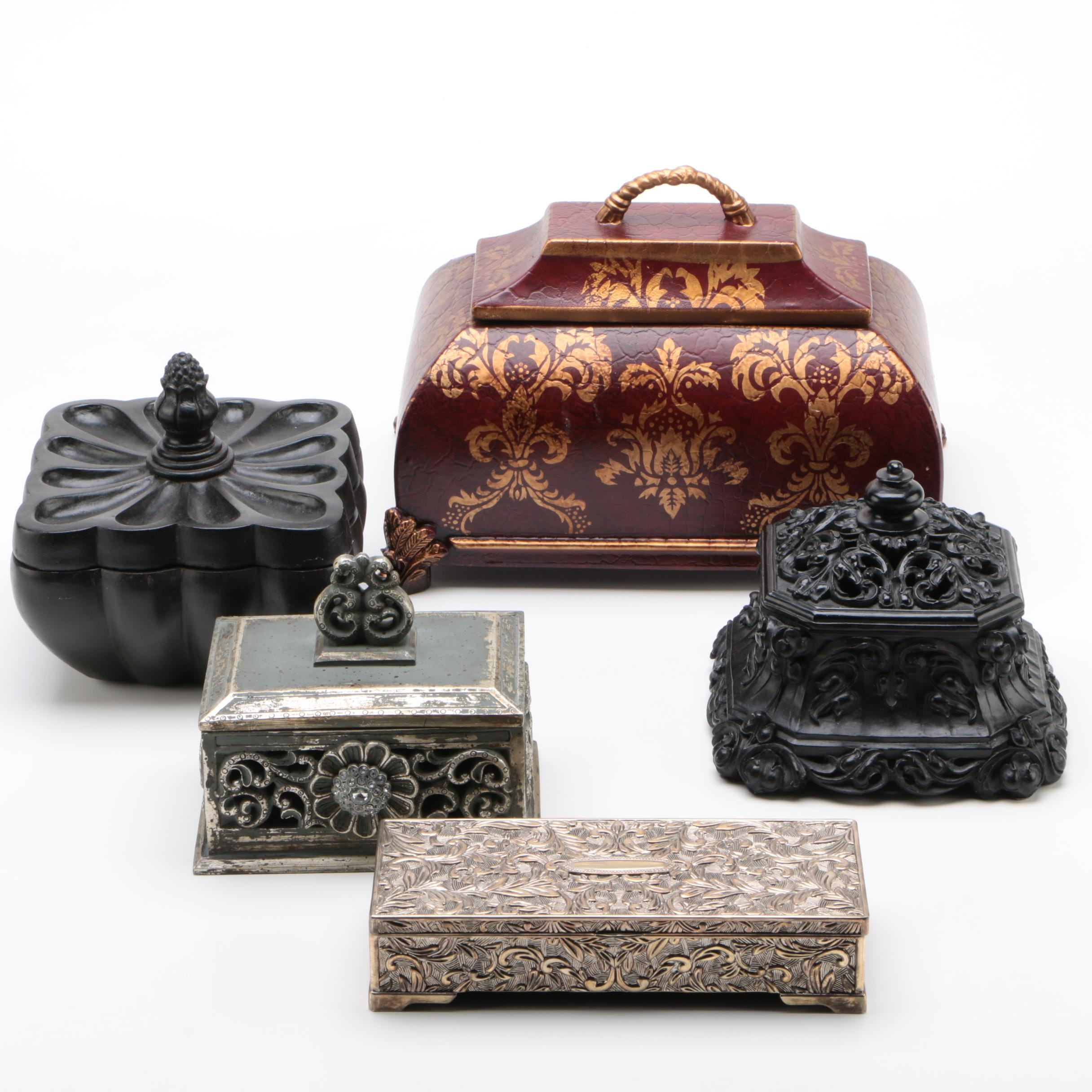 Godinger Jewelry Box and Other Decorative Boxes