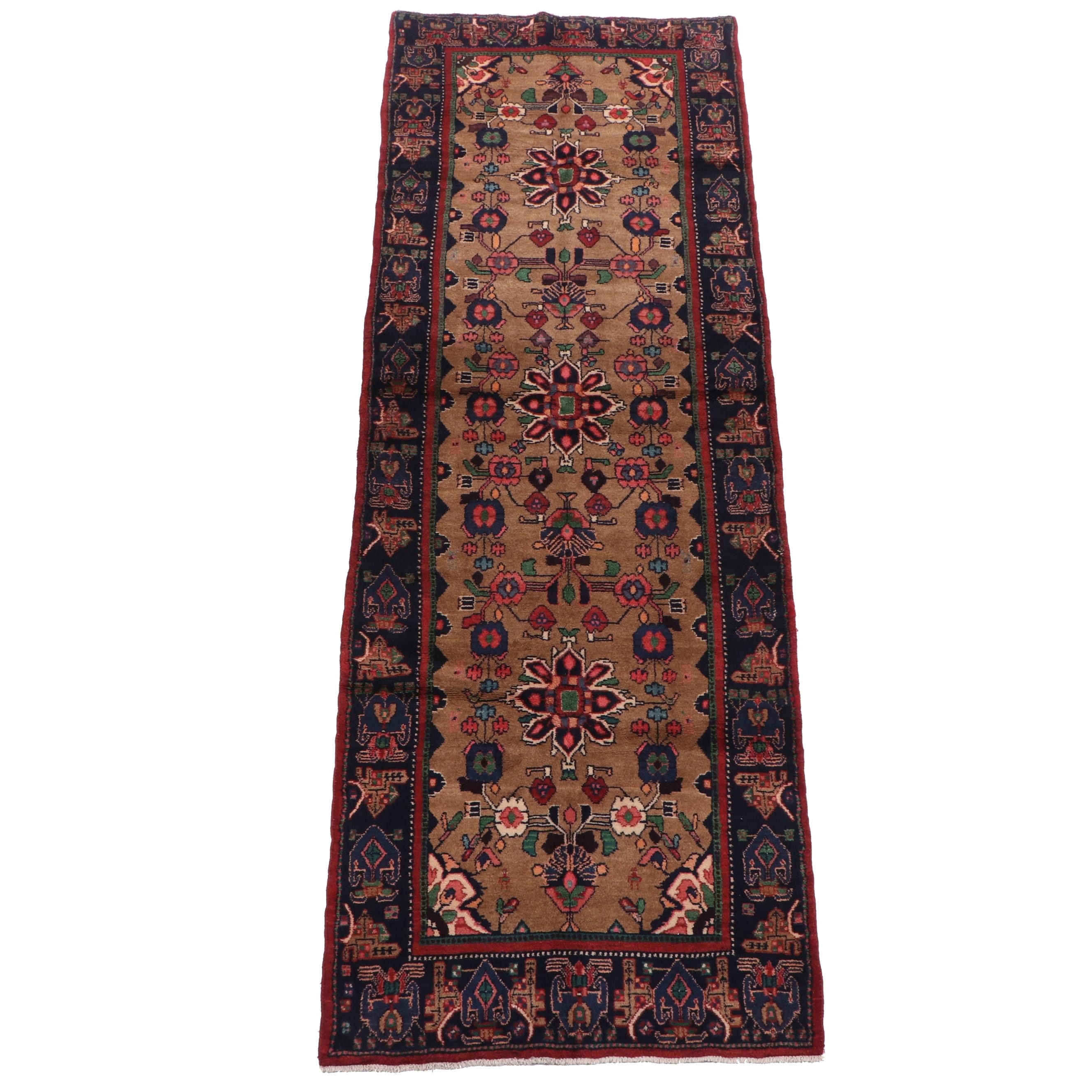 Hand-Knotted Wool Carpet Runner