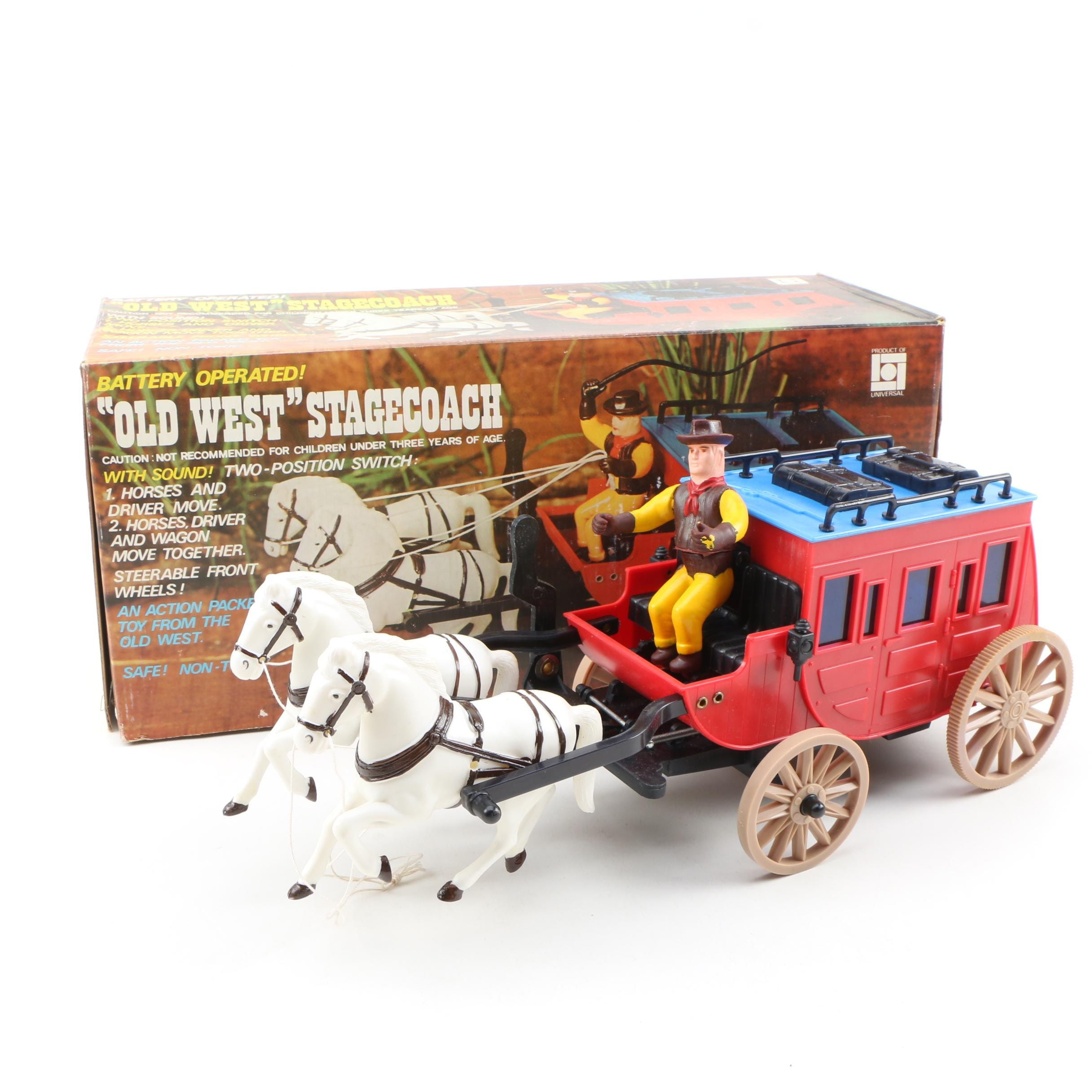 "Universal ""Old West"" Stagecoach"