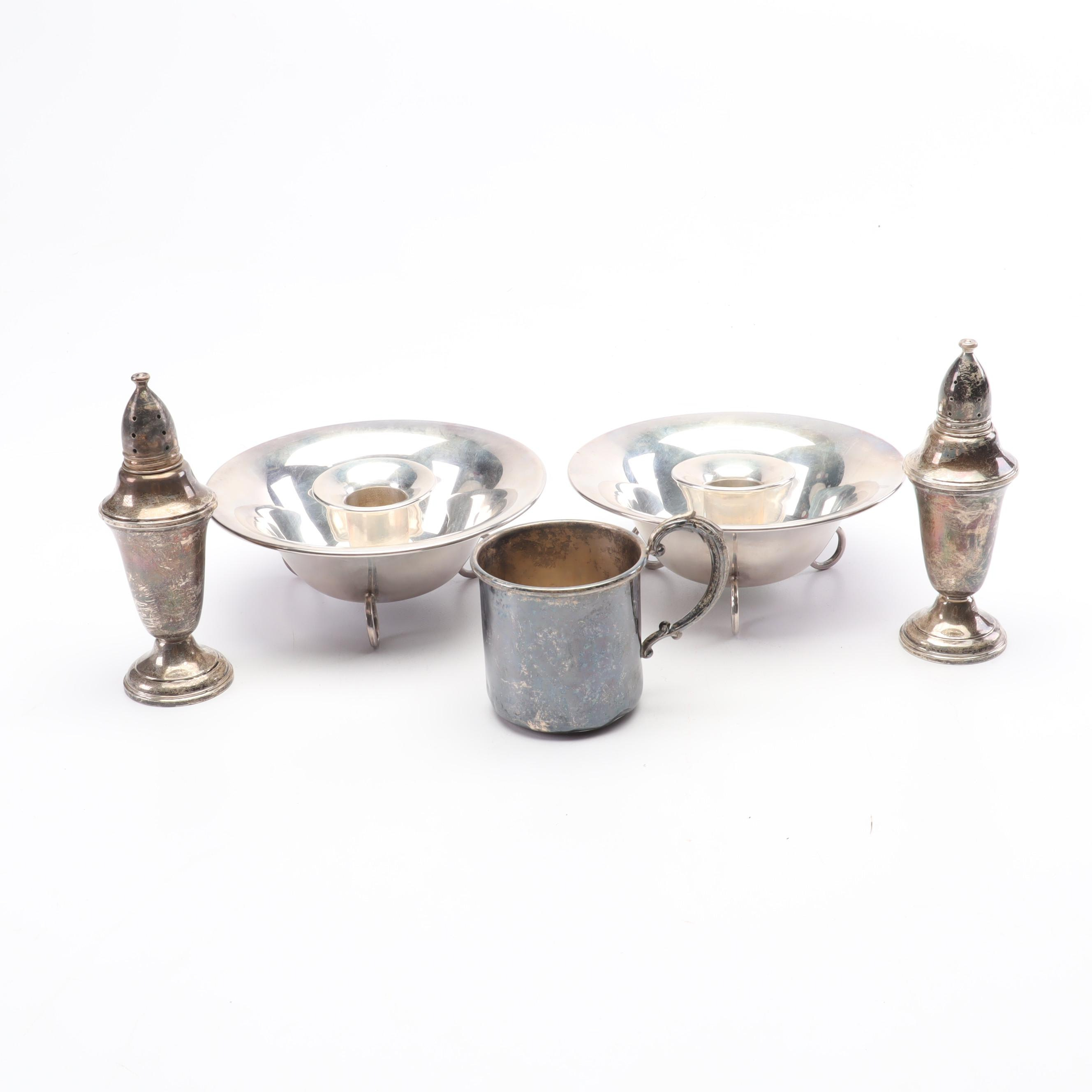 Weighted Sterling Tableware with Eastern Silver Co.