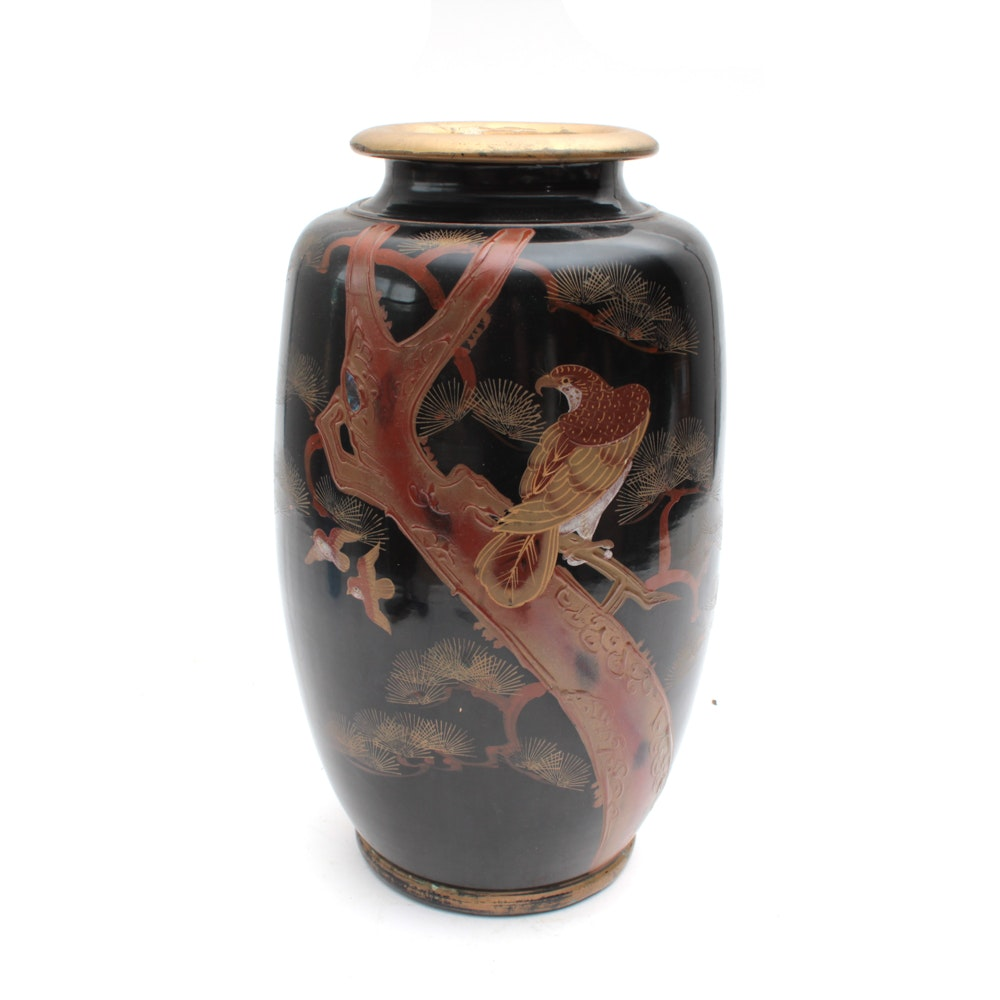 East Asian Vase with Abalone