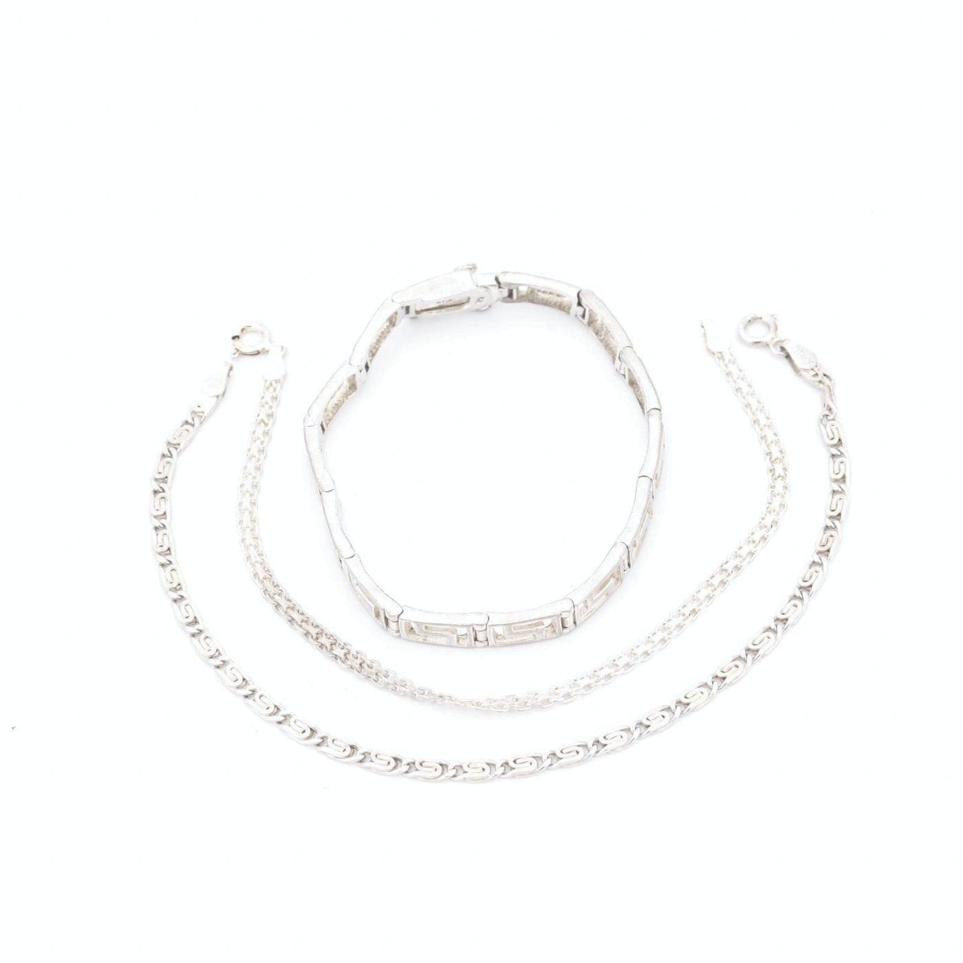Italian Sterling Silver Bracelets