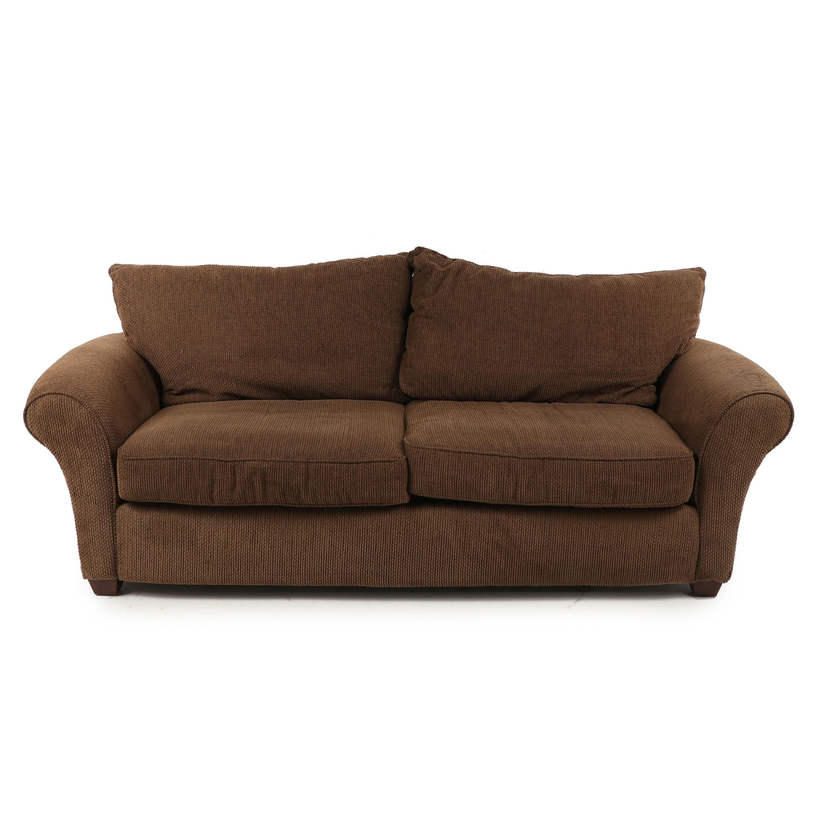 Alan White Upholstered Sofa, Late 20th Century